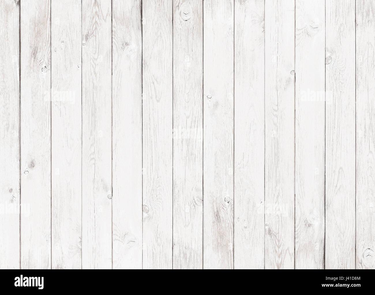Legno bianco sfondo testurizzata Immagini Stock