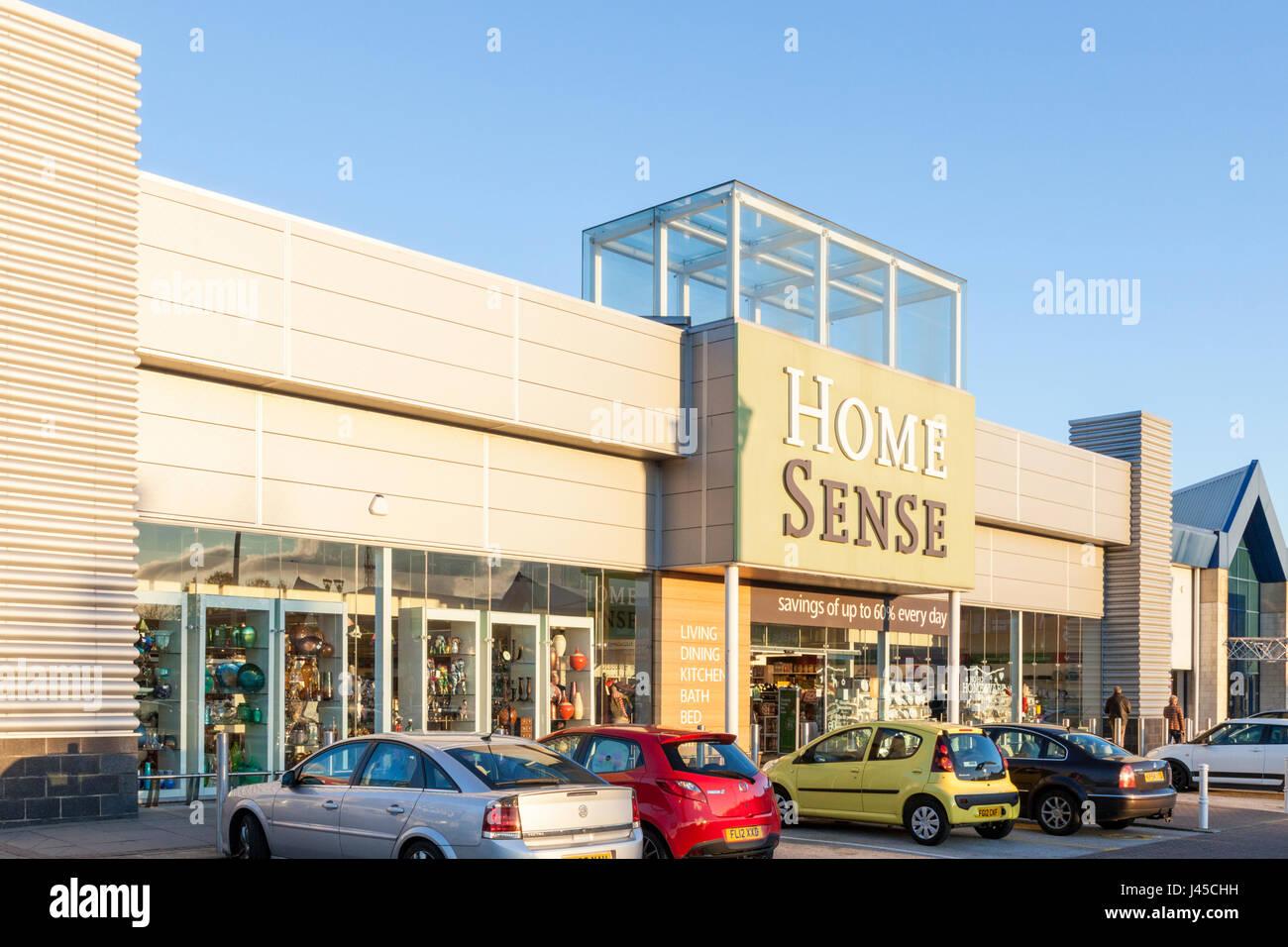 Home senso, castle marina retail park, Nottingham, Inghilterra, Regno Unito Immagini Stock