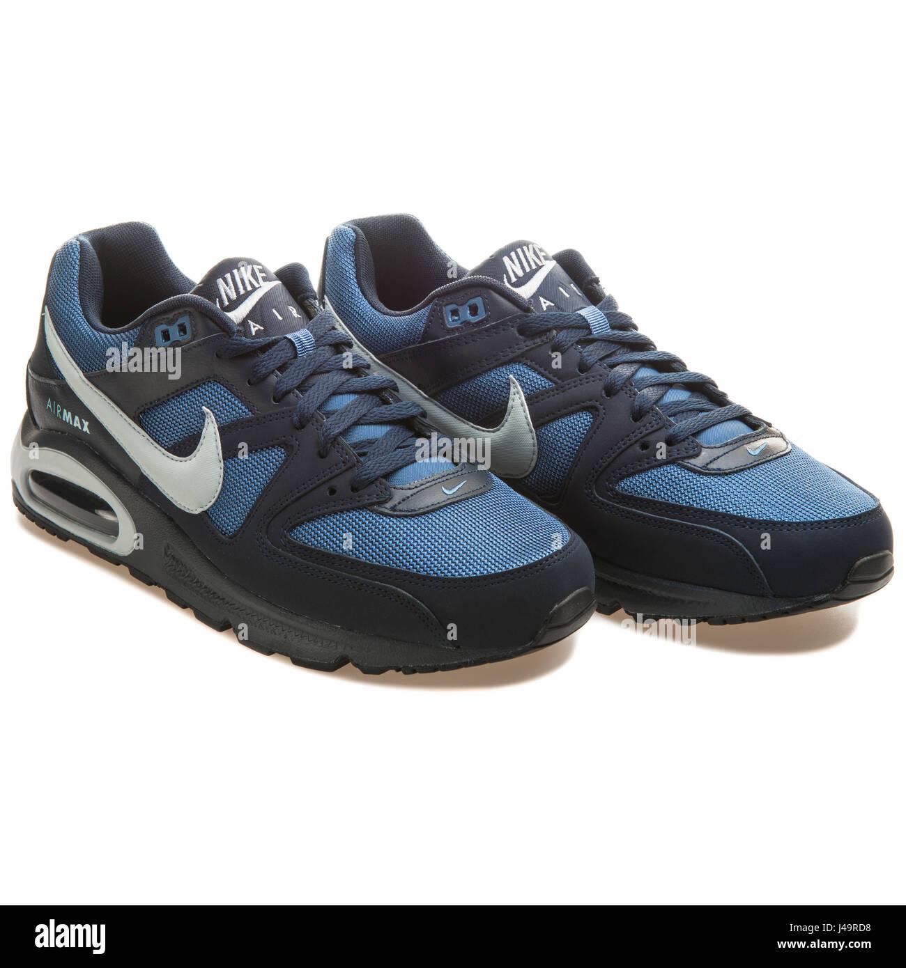 Nike Air Max Command blu 629993 400 Foto & Immagine Stock