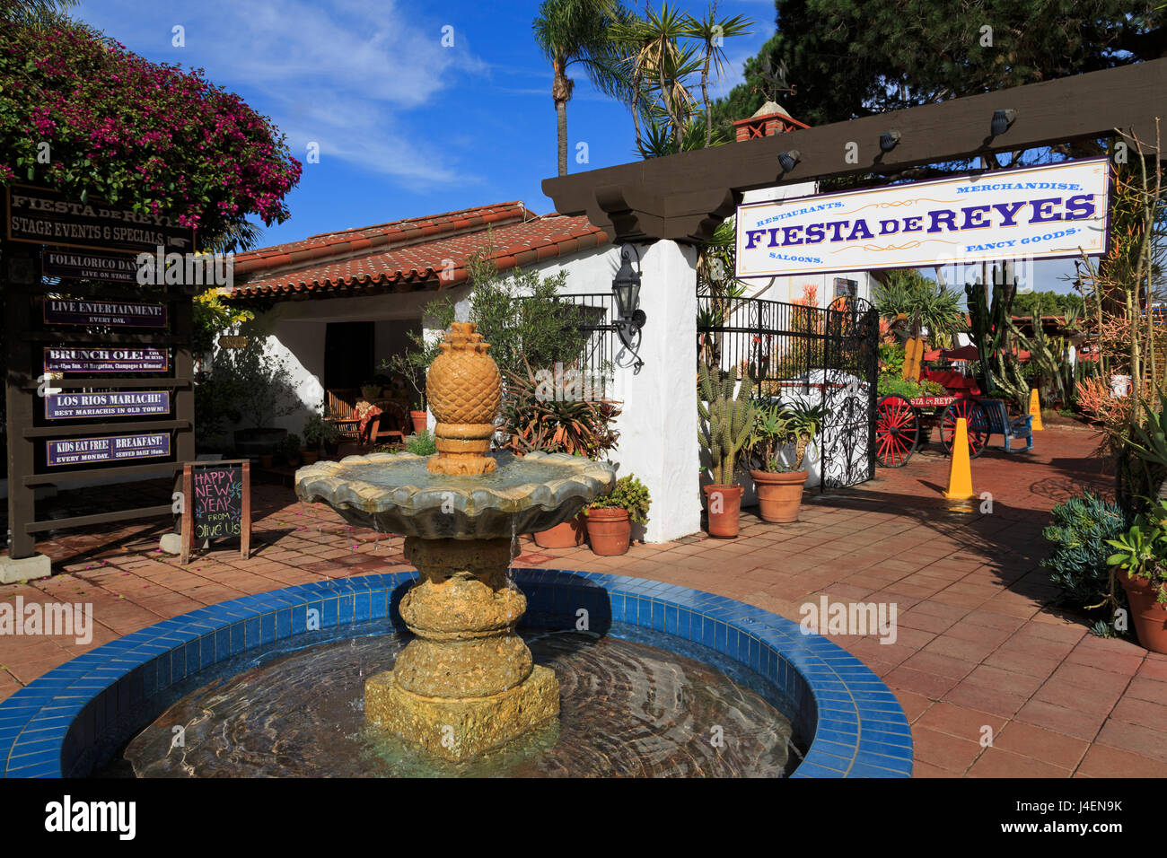 Fiesta de Reyes, Old Town Sate parco storico, San Diego, California, Stati Uniti d'America, America del Nord Immagini Stock