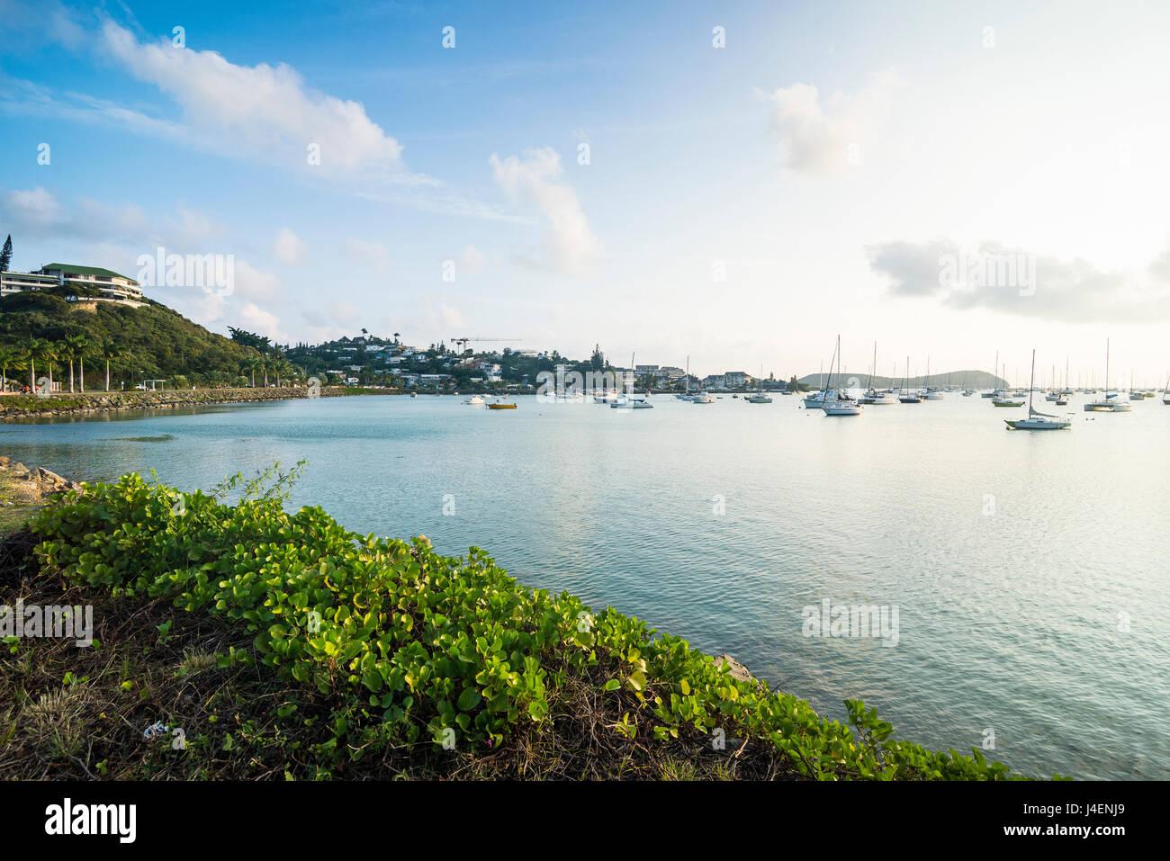 La Porta Magenta Sud Bay, Noumea, Nuova Caledonia, Pacific Immagini Stock