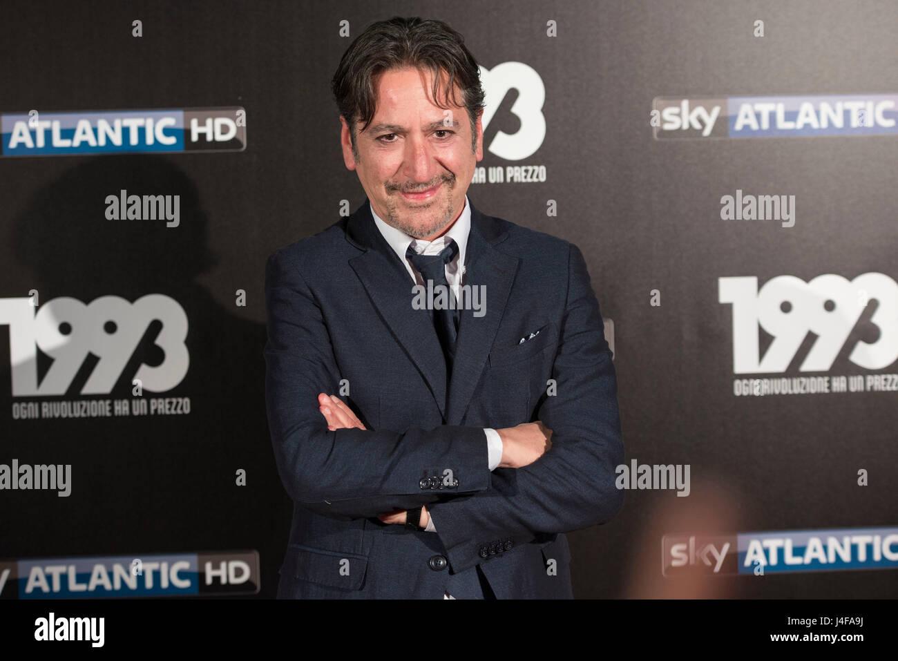 Fabrizio Contri sul redcarpet presso il cinema Odeon di Milano per ...