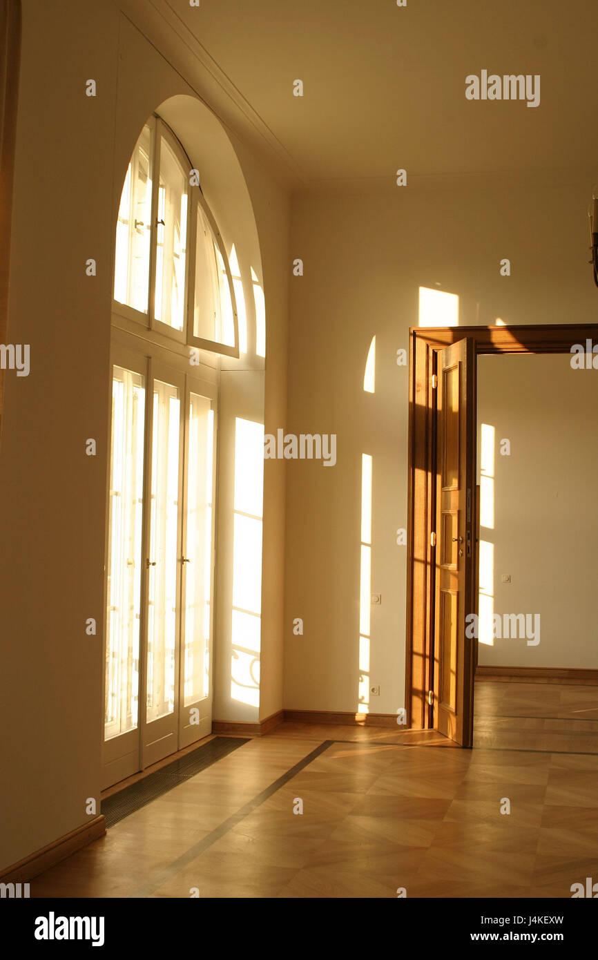 Appartamento In Un Vecchio Edificio Vuoto Dettaglio Finestra