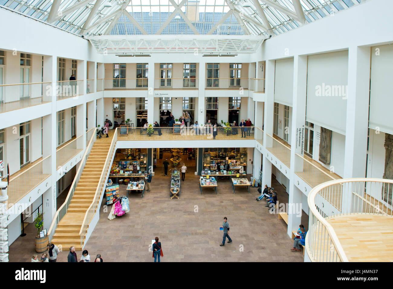 Museo nazionale di Danimarca, Copenhagen, Danimarca Foto Stock