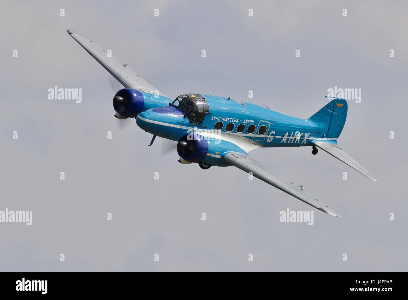 L'Avro Anson C19 Immagini Stock
