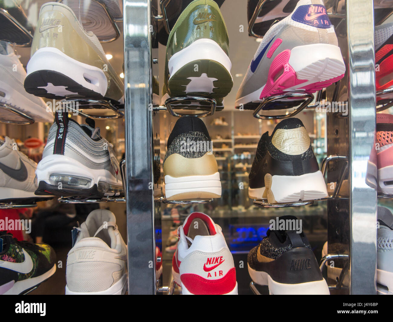 Nike Trainers Immagini e Fotos Stock Alamy