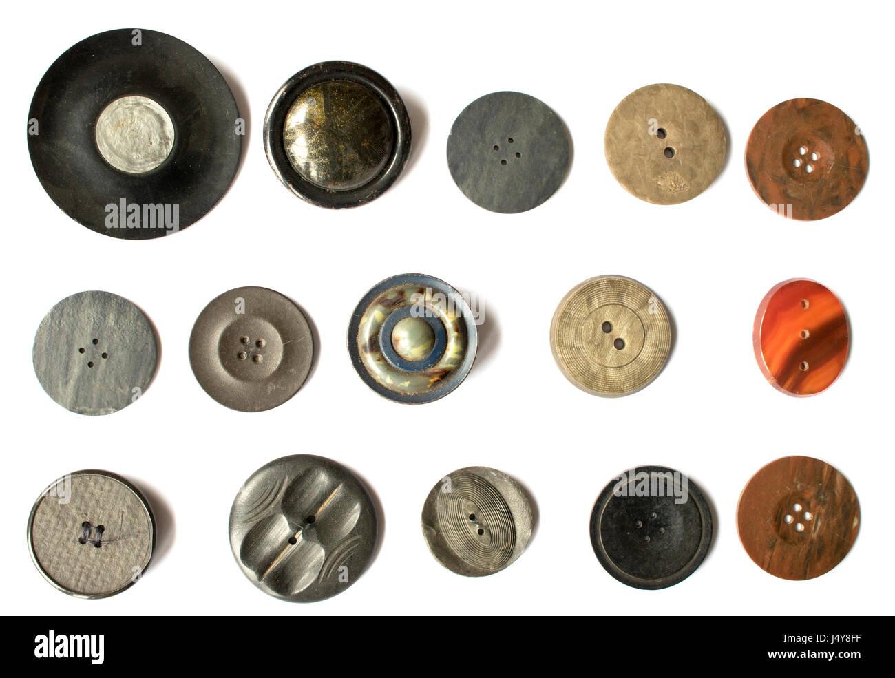 Raccolta mista di vettori di pulsanti Immagini Stock