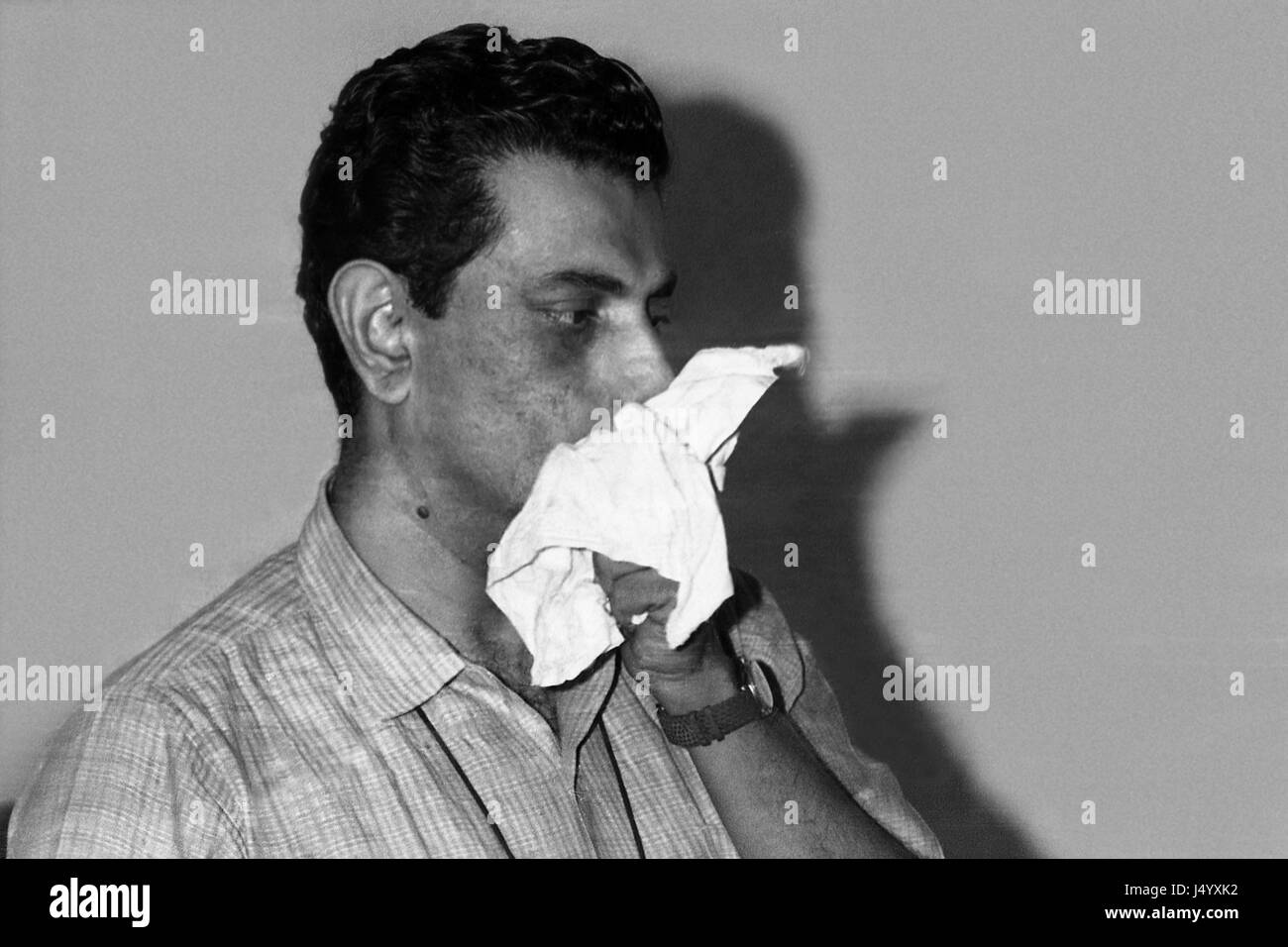 Indian regista bengalese, Satyajit Ray, India, Asia Immagini Stock