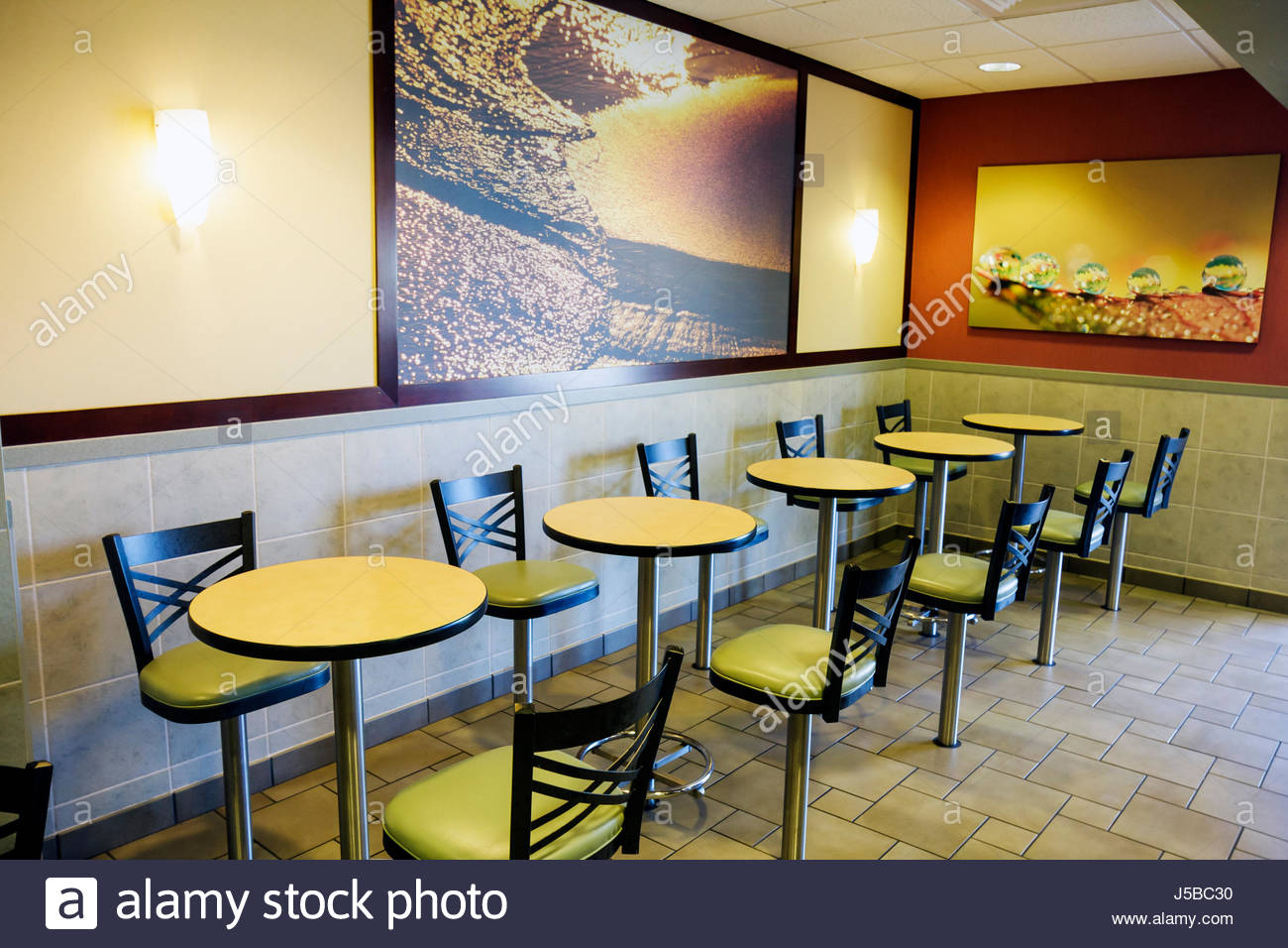 Florida giove mcdonald 39 s mcdonalds un ristorante fast food for Arredamento per fast food