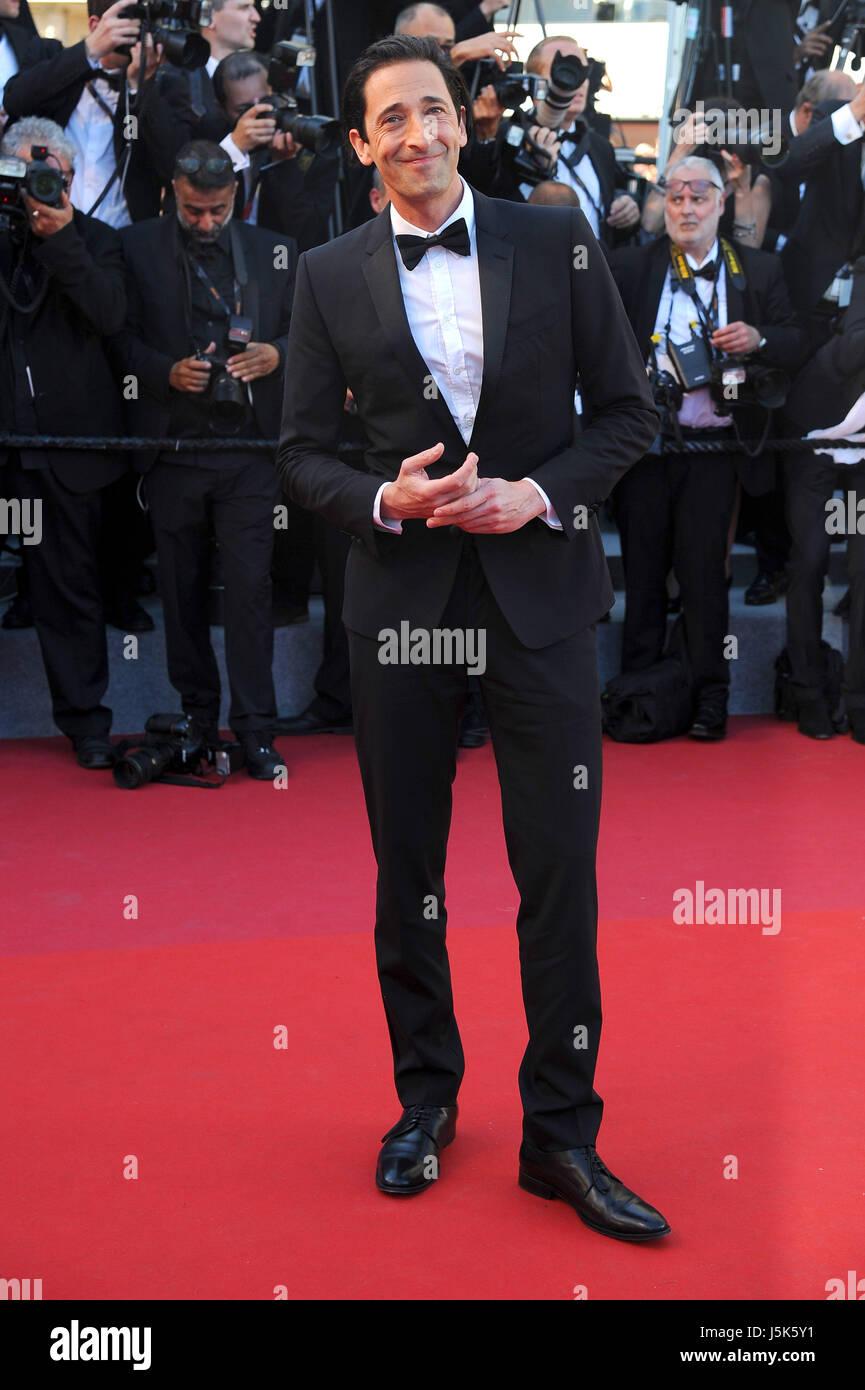 """Settantesimo Cannes Film Festival 2017, tappeto rosso """"Ismael i fantasmi (Les Fantomes d'Ismael)' & Immagini Stock"""