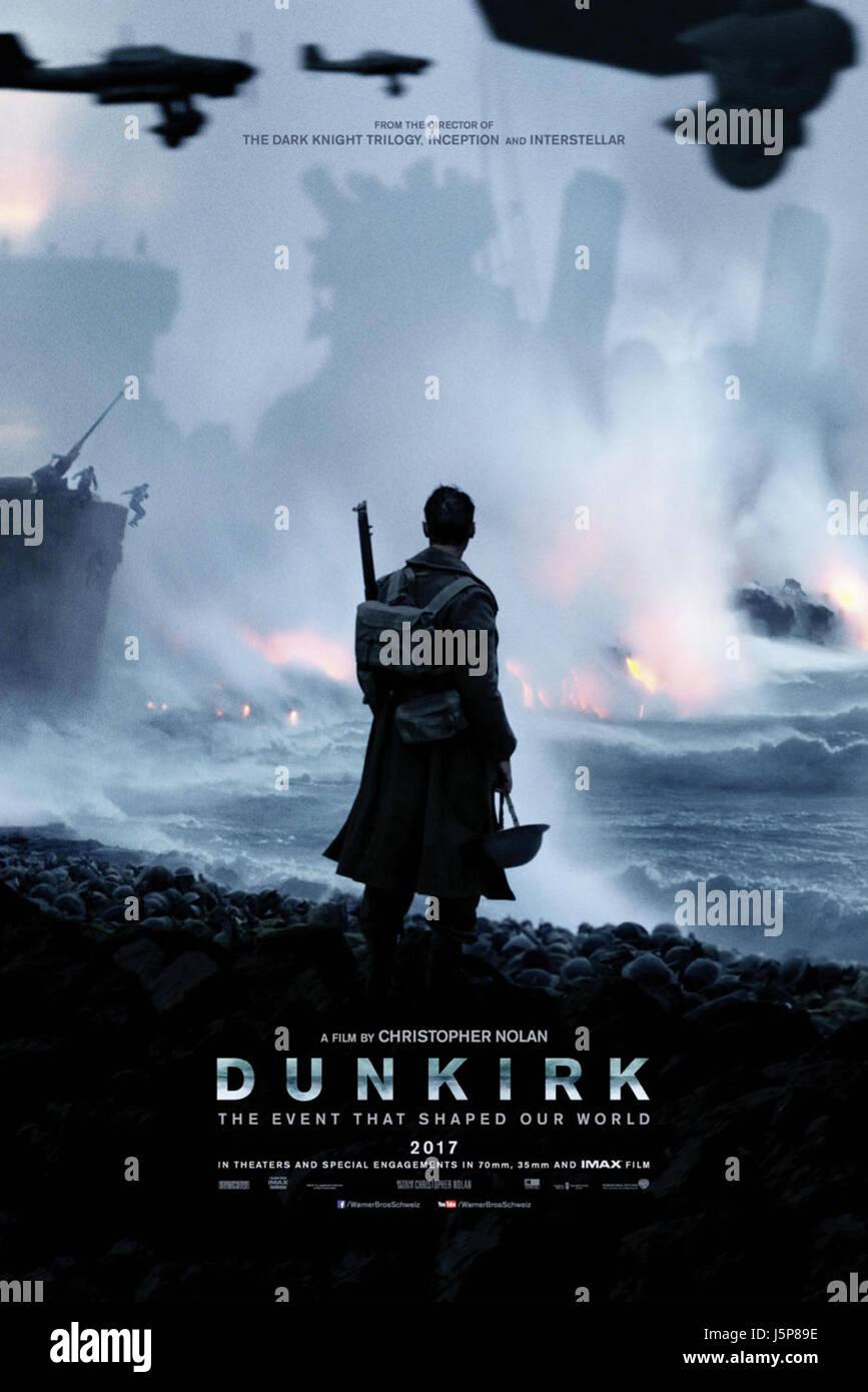 Dunkerque (2017) CHRISTOHER NOLAN (DIR) WARNER BROS/raccolta MOVIESTORE LTD Immagini Stock