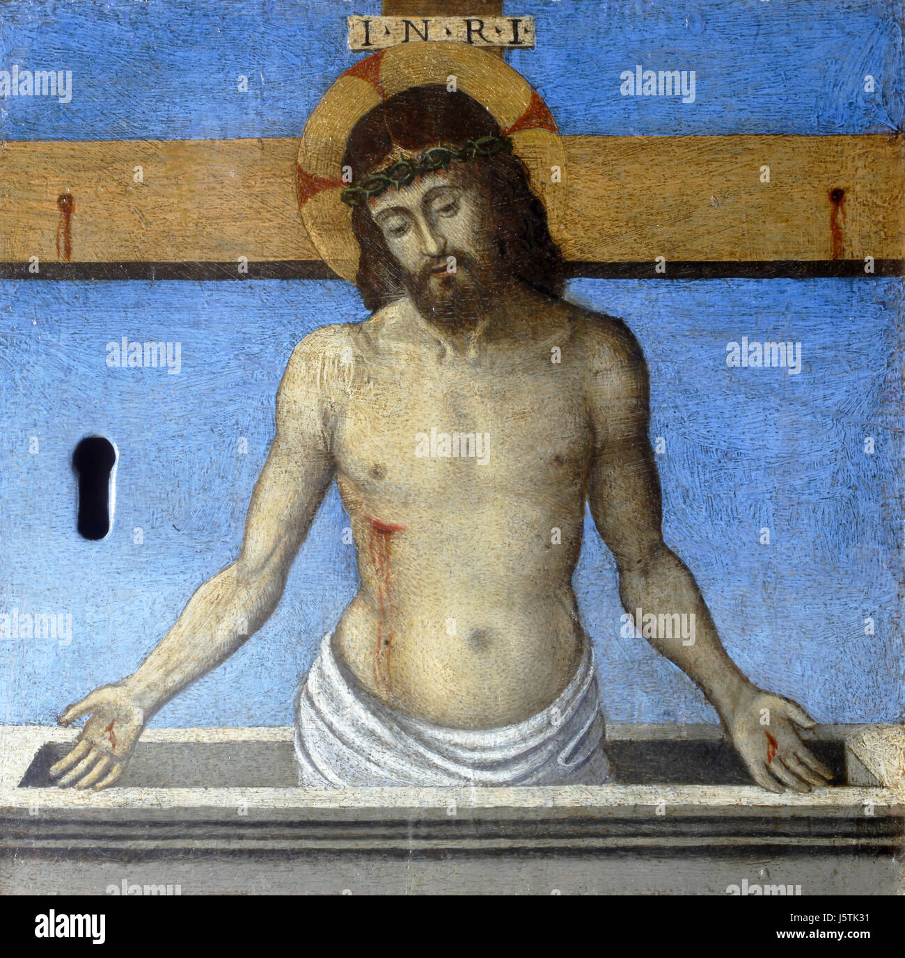 Girolamo da Santa Croce: Imago Pietatis Immagini Stock