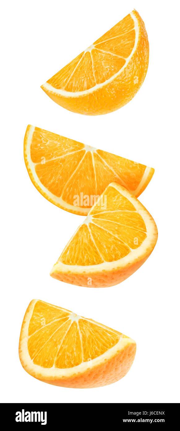 Orange Wedge Cut Out Immagini Orange Wedge Cut Out Fotos Stock Alamy