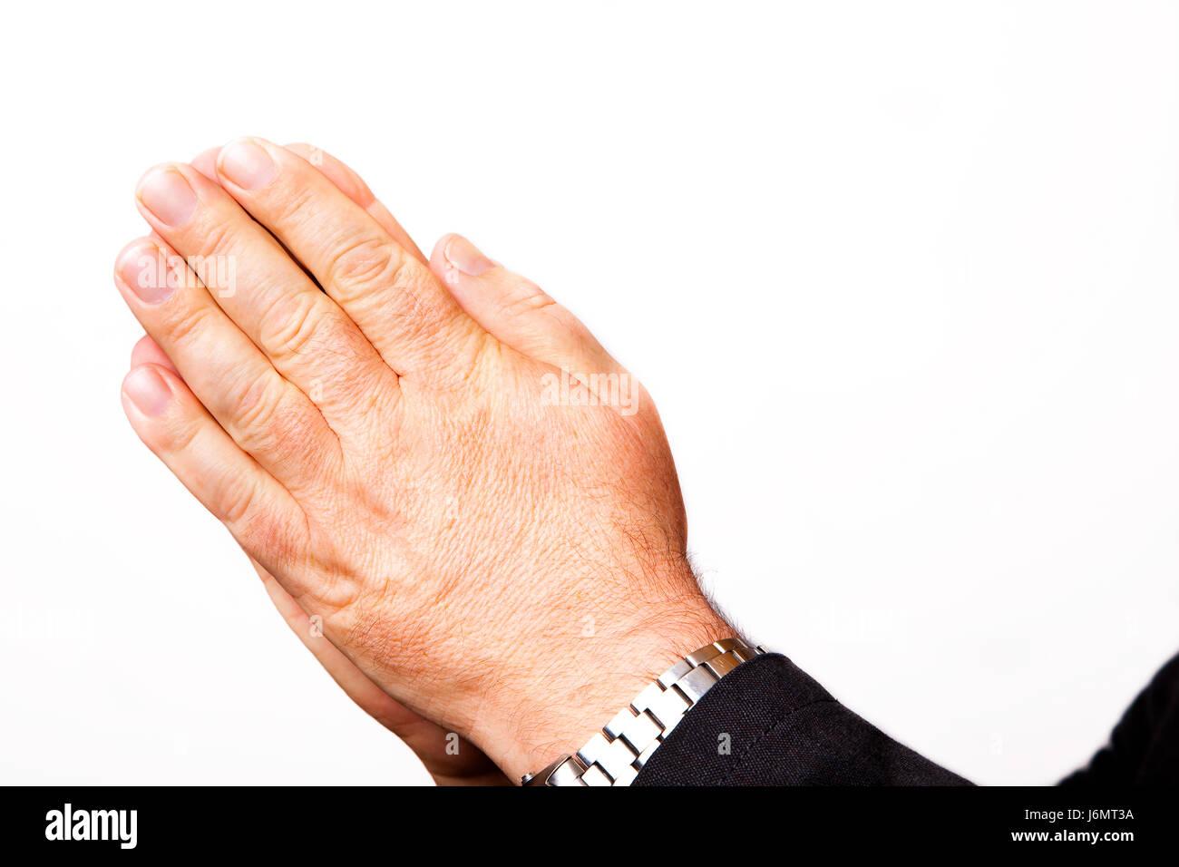 La Credenza In Dio : Mano a credenza dio pregare tenere mendicare preghiera rughe