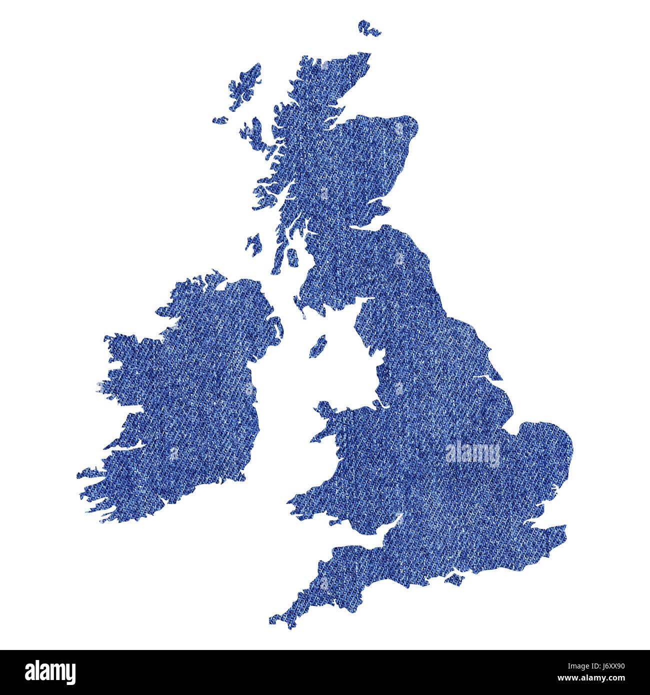 Cartina Inghilterra E Scozia.Inghilterra Scozia Irlanda British Gran Bretagna Galles Mappa Atlas Mappa Del Mondo Blu Foto Stock Alamy