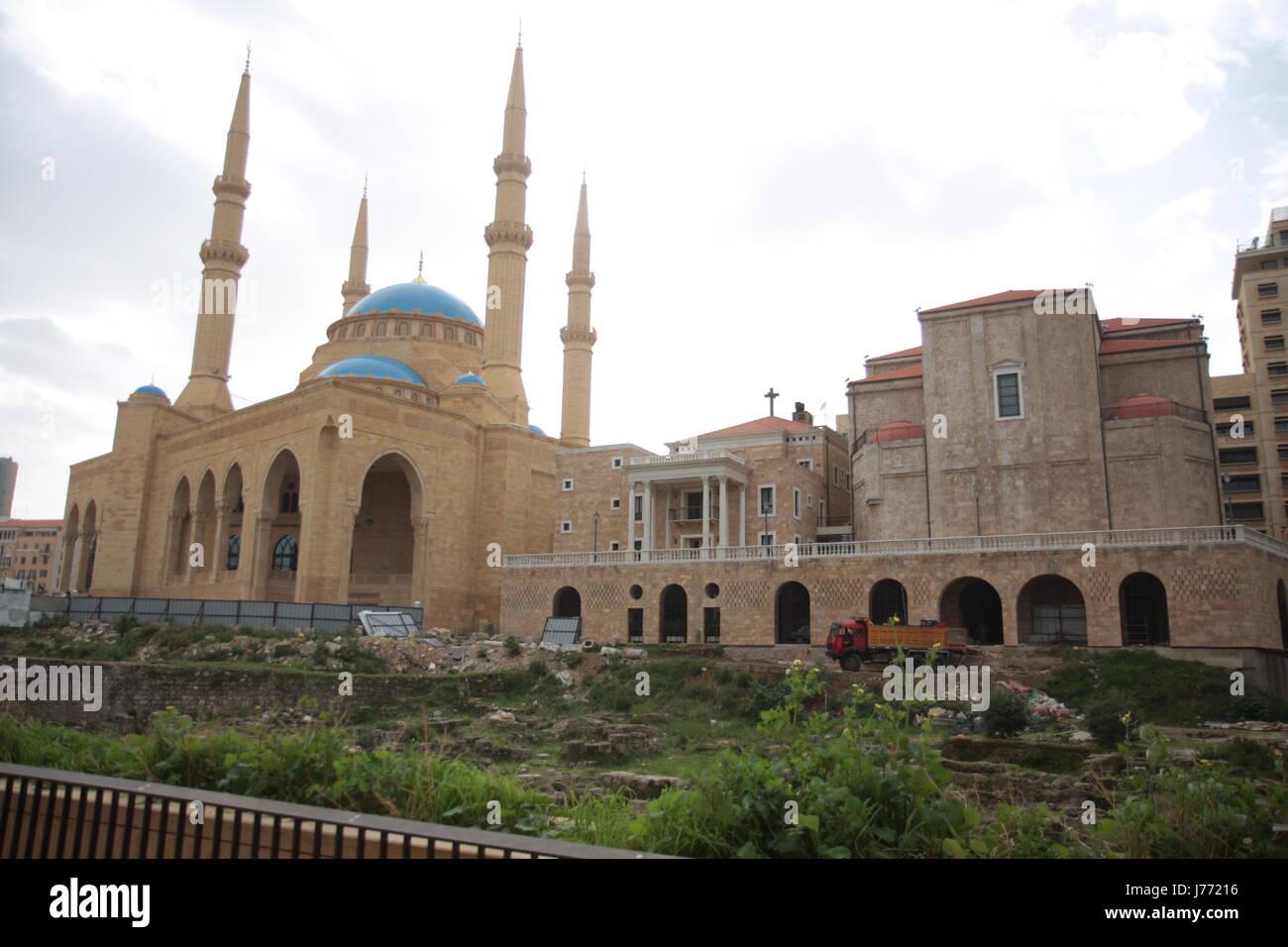 La Credenza Religiosa : Islam moschea libano blue house building religione storica chiesa di