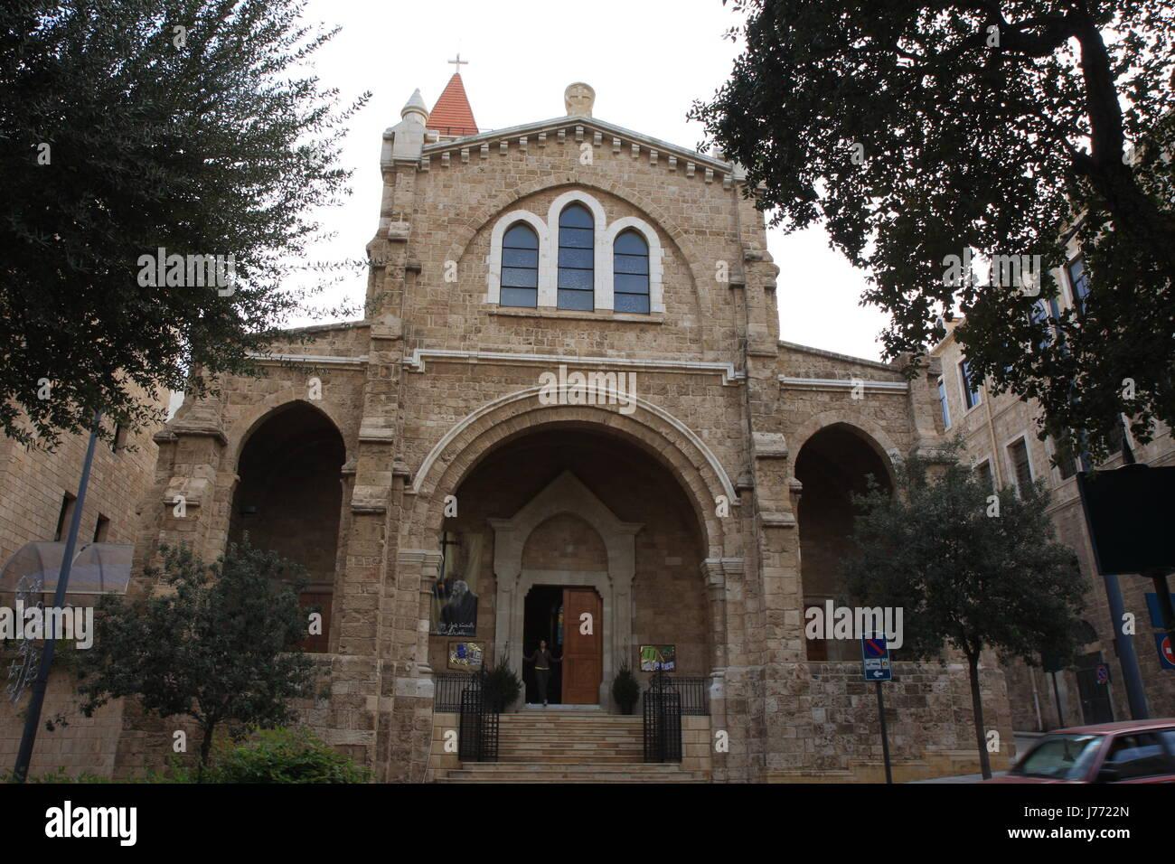 La Credenza Religiosa : Chiesa islam moschea libano blue house building religione storica