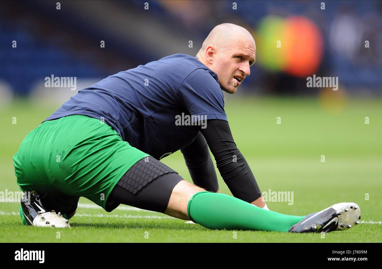 JAN MUCHA Everton FC Everton FC THE HAWTHORNS Birmingham Inghilterra 01 Settembre 2012 Immagini Stock