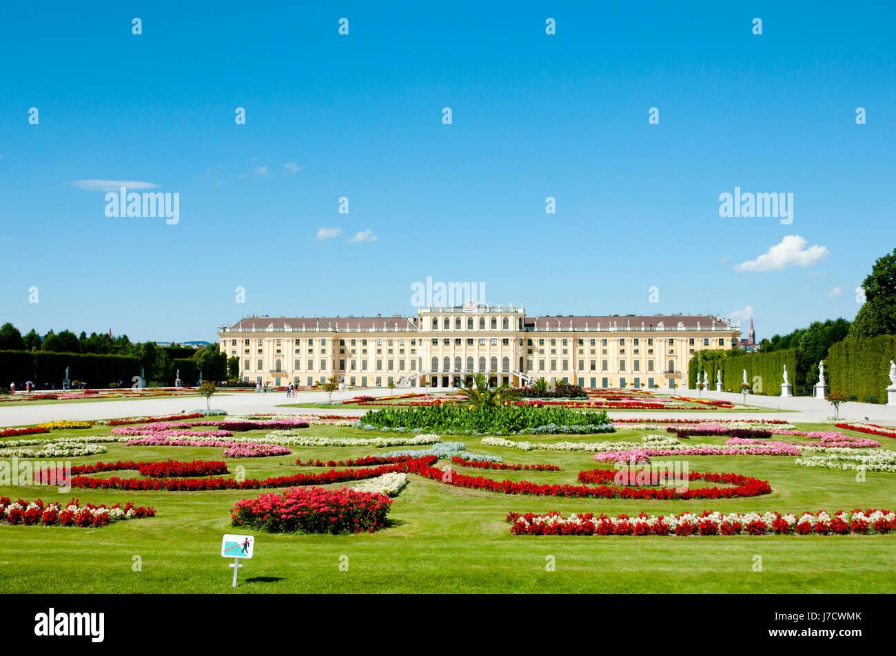 Palazzo di Schonbrunn - Vienna - Austria Immagini Stock
