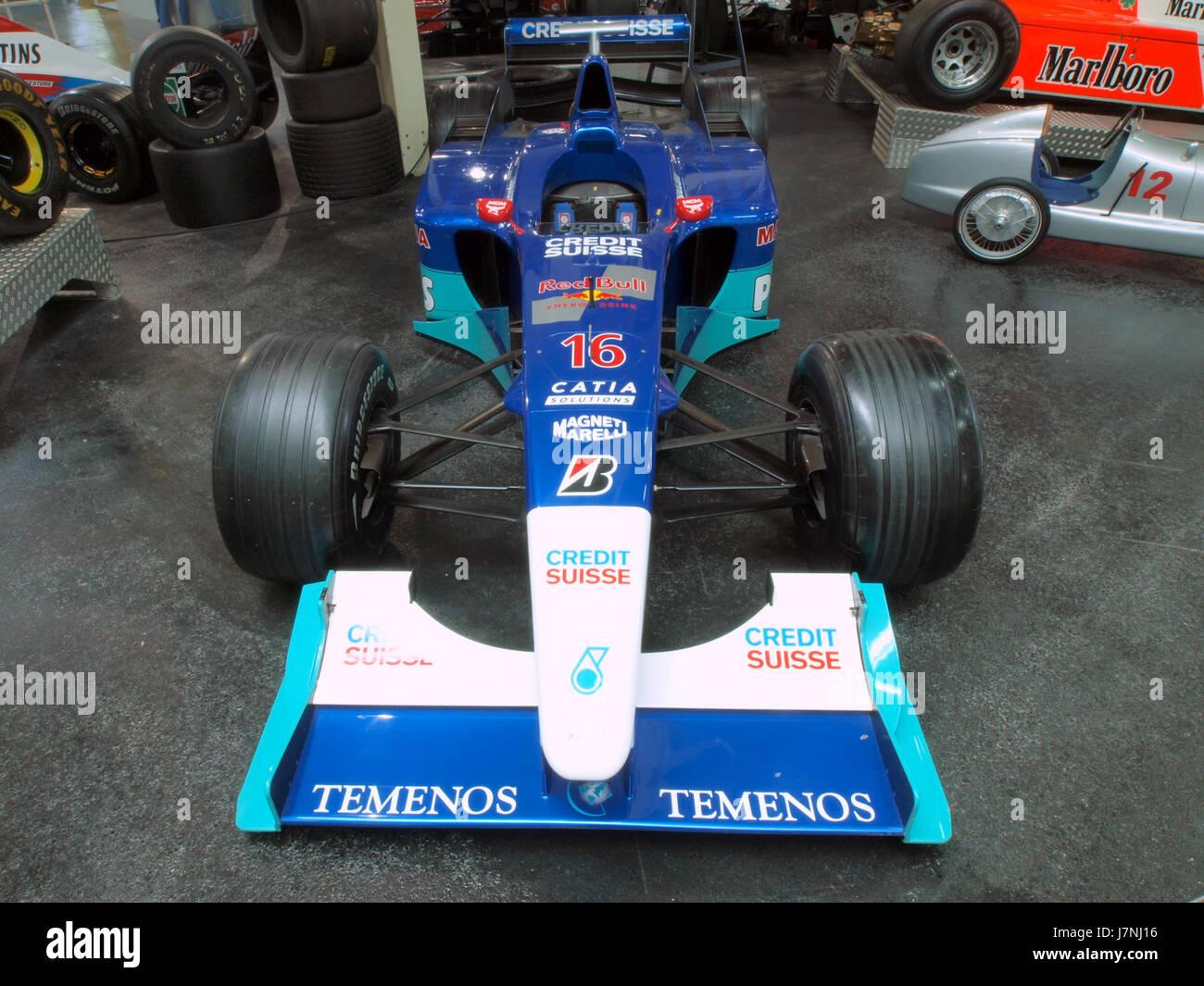2000 Red Bull Sauber Petronas C19 nel 2001 livrea pic2 Immagini Stock