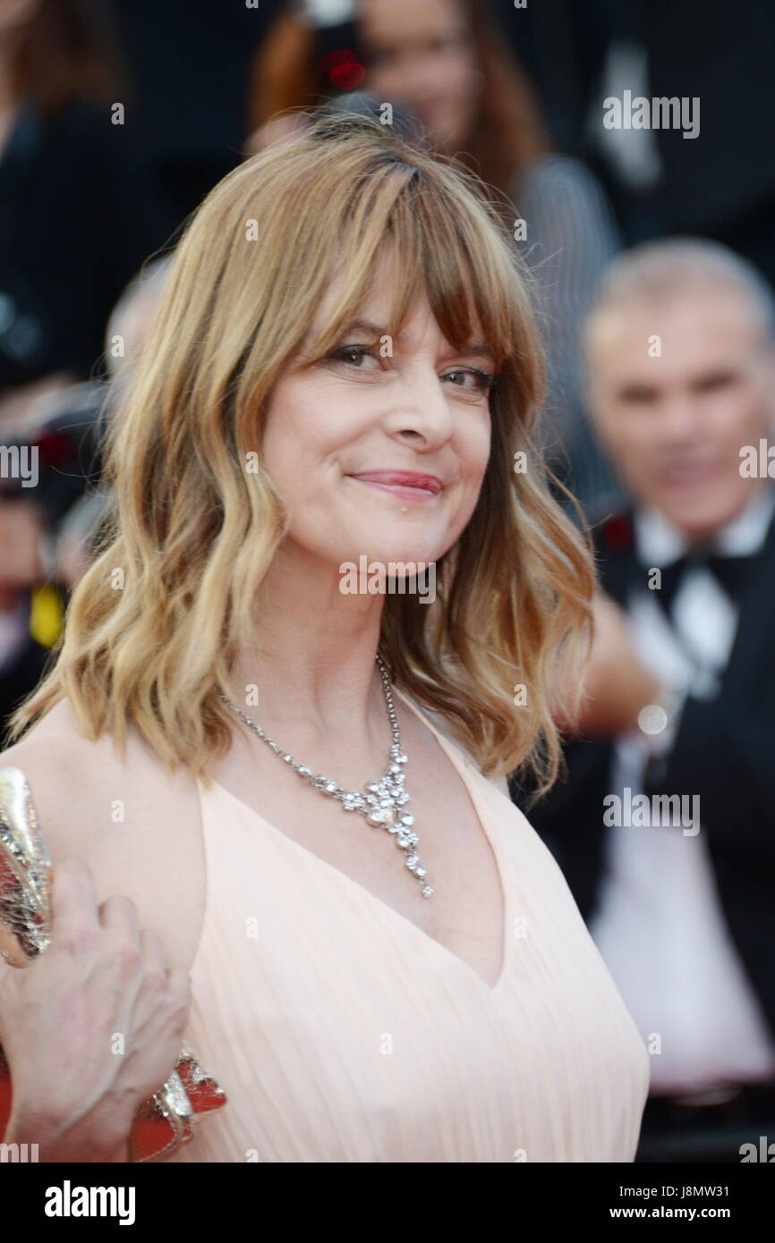Cannes, Francia. 28 Maggio, 2017. CANNES, Francia - 28 Maggio: Nastassja Kinski assiste alla cerimonia di chiusura Foto Stock
