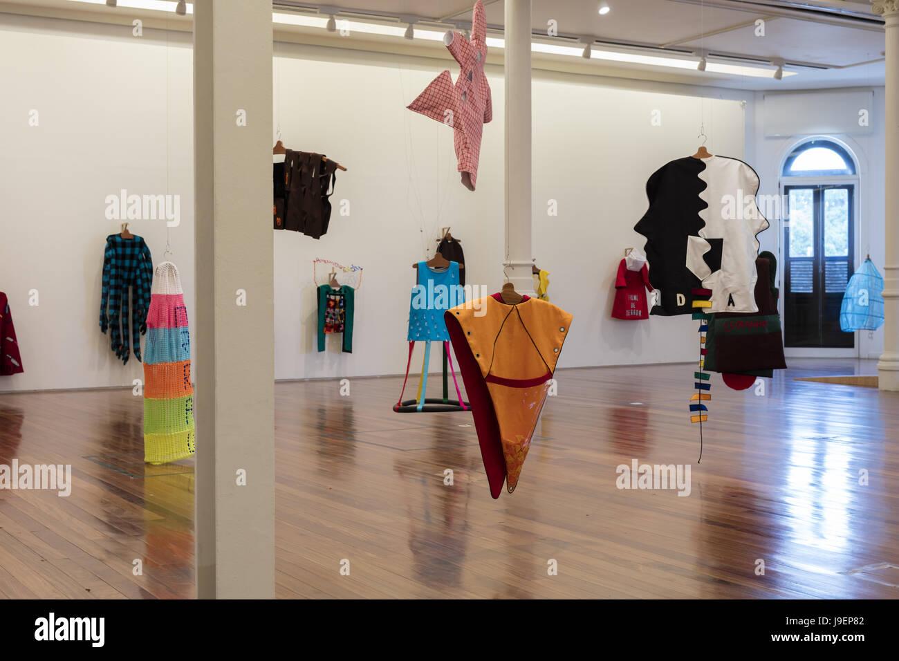 Galleria in Rio Art Museum (MAR; Museu de Arte do Rio) Immagini Stock