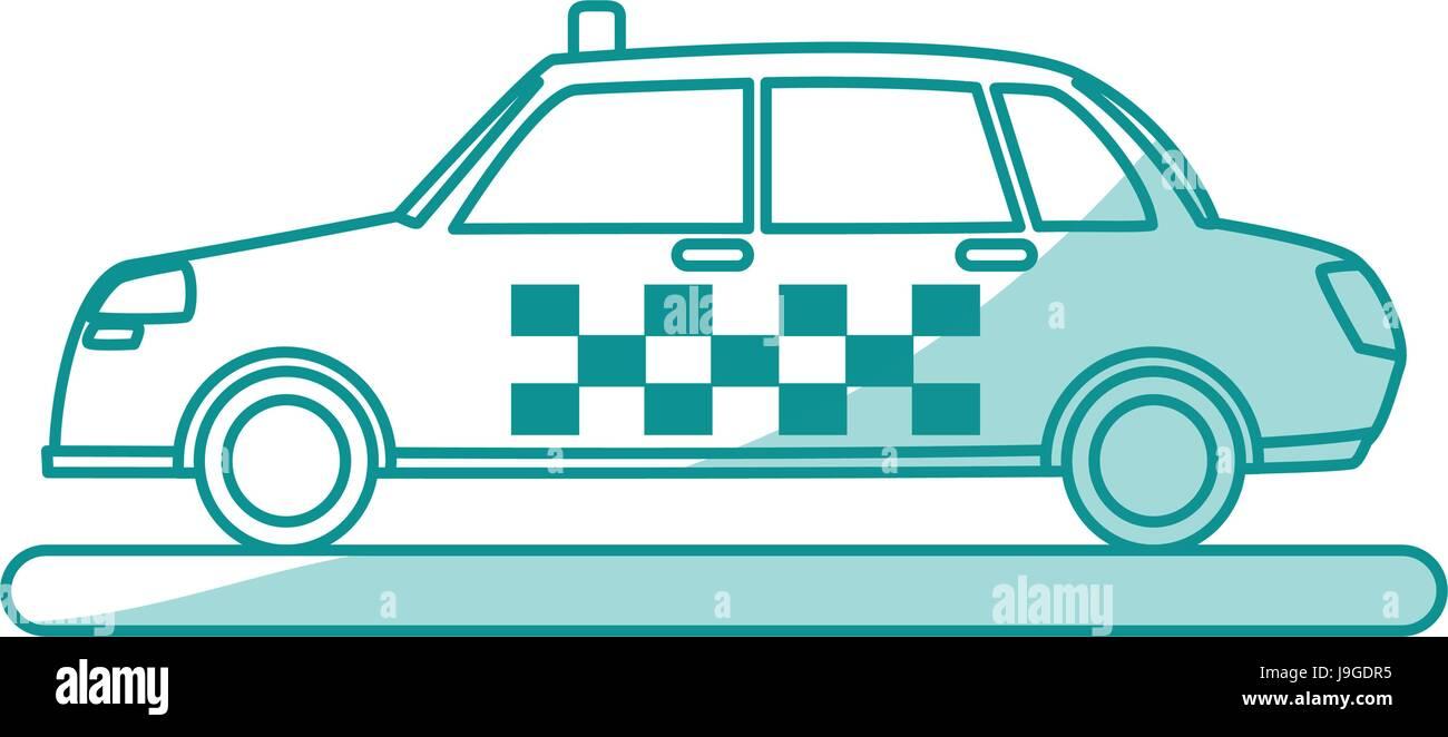 Mezzi di trasporto design Immagini Stock