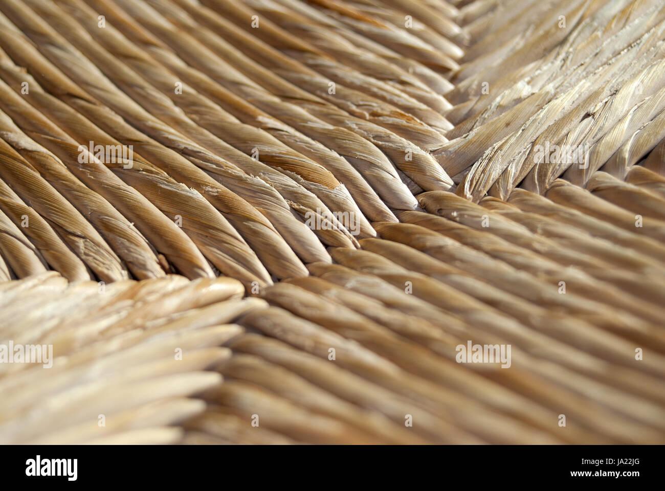 Geometria, pattern, linea, le linee, di canna da zucchero, motivo rustical, rustico, forme, forma, Immagini Stock