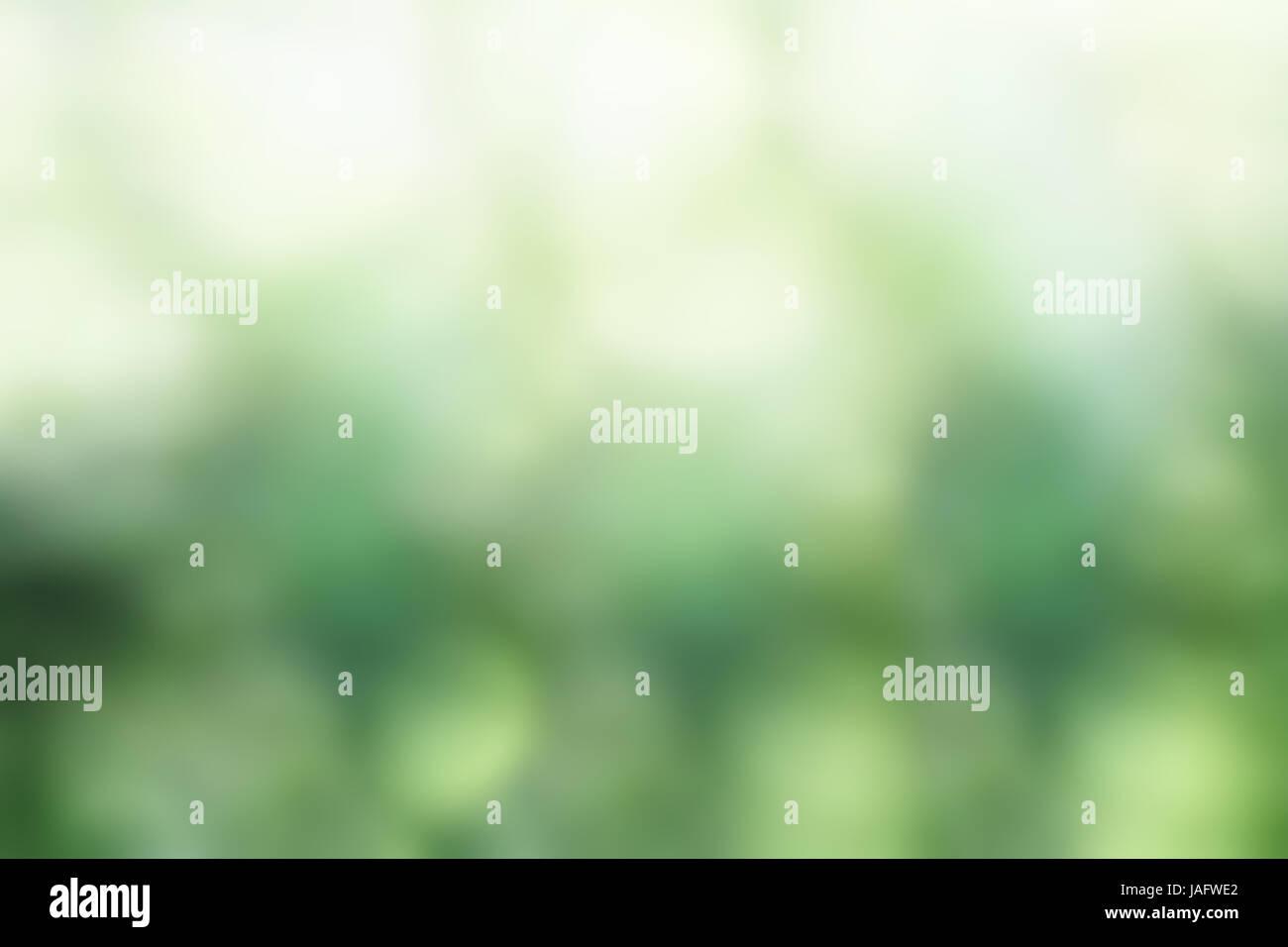 Abstract Di Sfondo Verde Sfumato Bokeh Texture Foto Immagine Stock