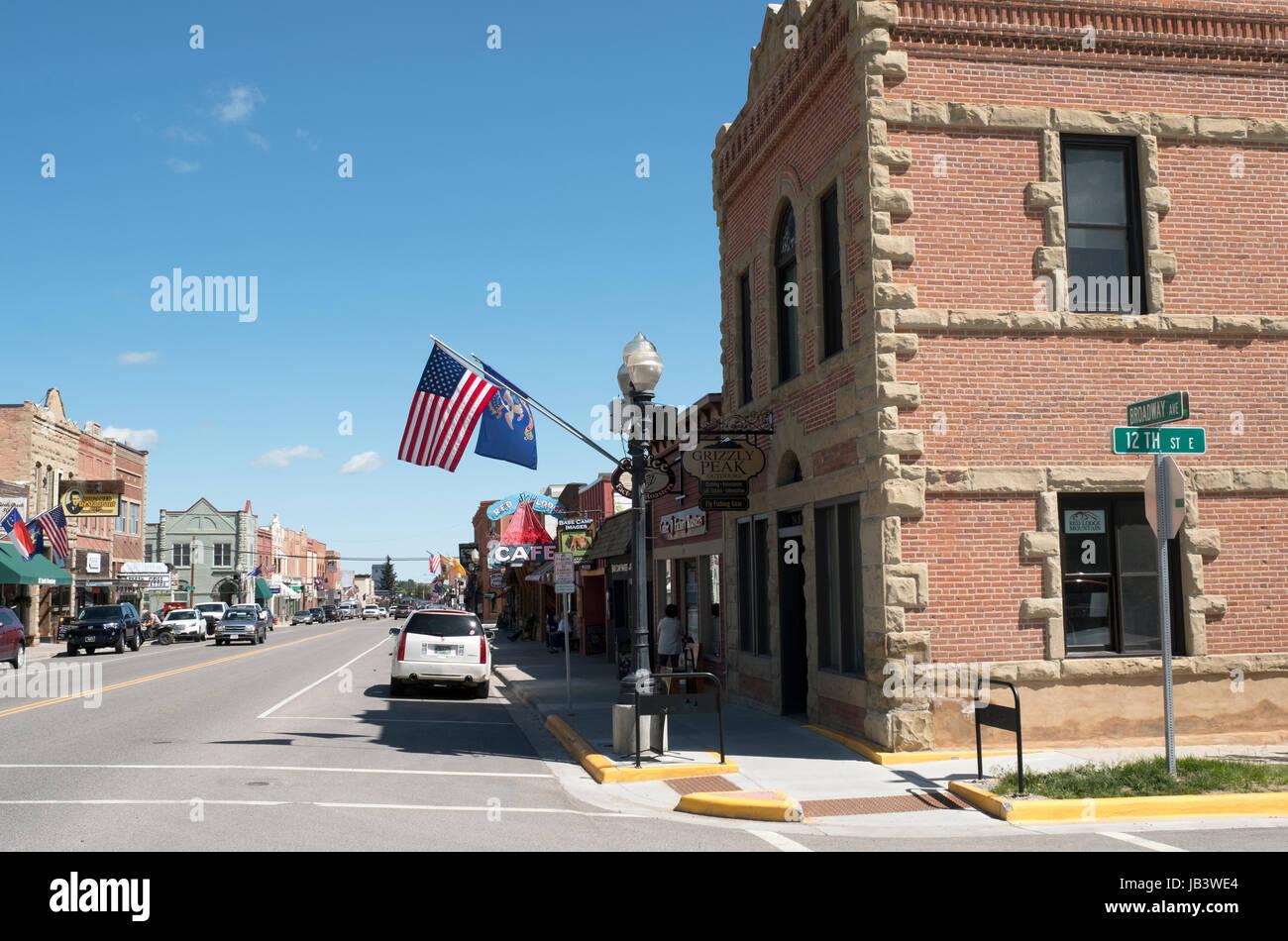 Red Lodge, Montana, Stati Uniti. Immagini Stock