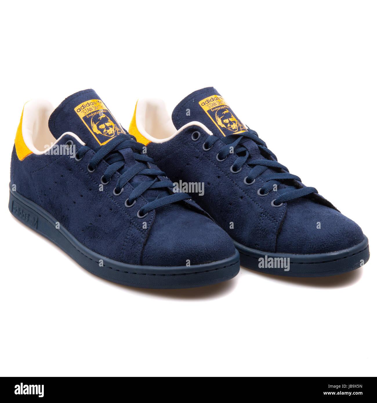 scarpe adidas blu e gialle
