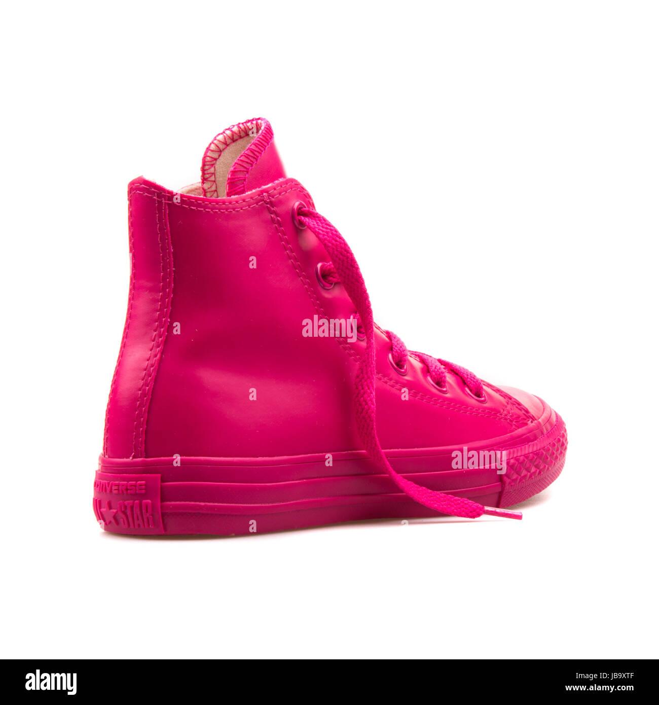 scarpe converse rosate