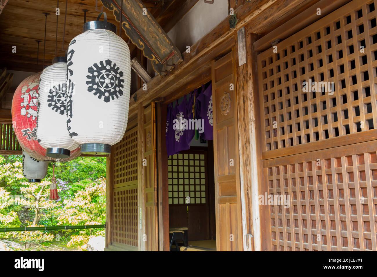 Tempio d'oro, Kinkaku-ji è uno Zen tempio buddista, Kyoto, Giappone. Immagini Stock