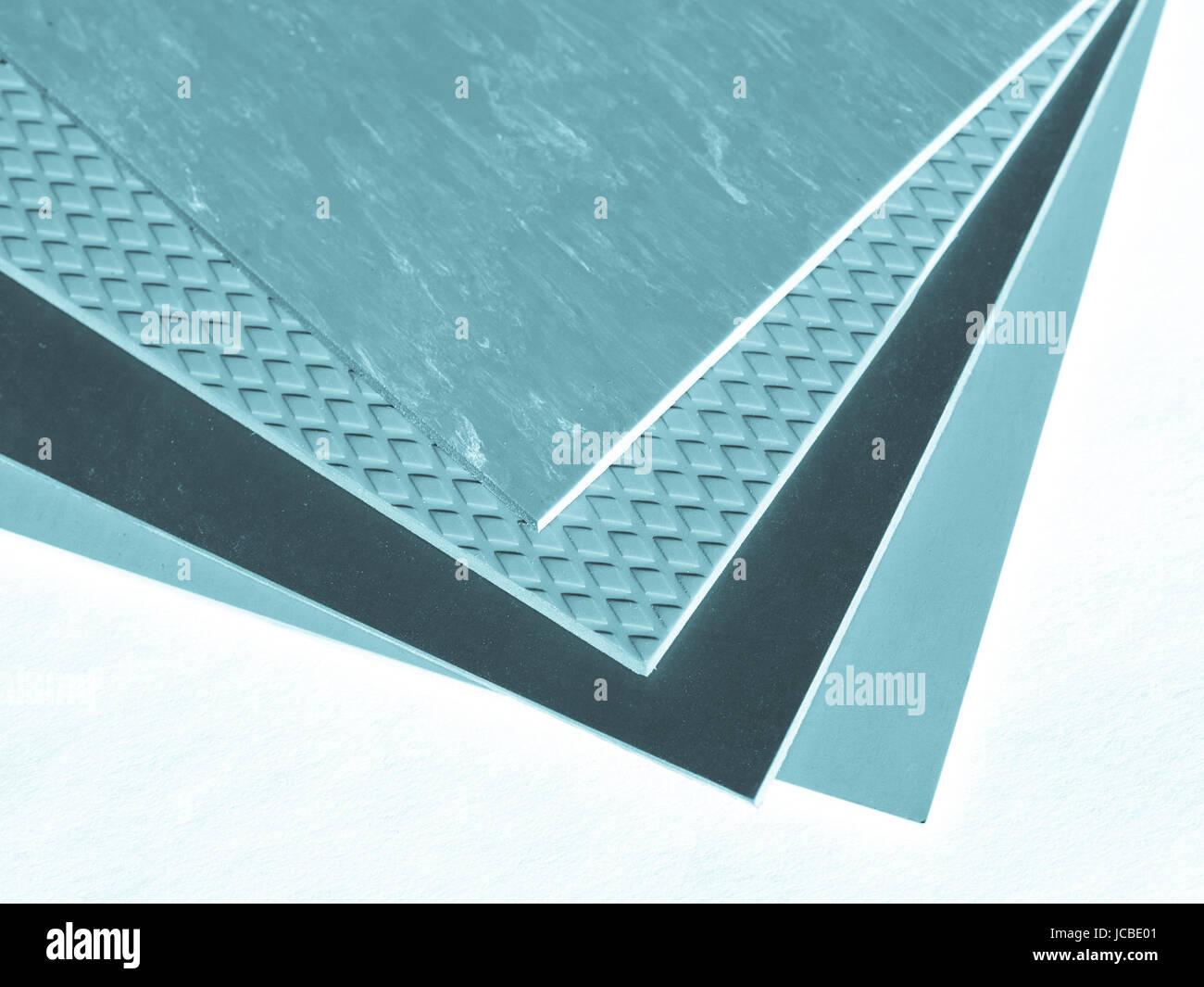Gomma colorata o linoleum piastrelle per pavimento sampler cool
