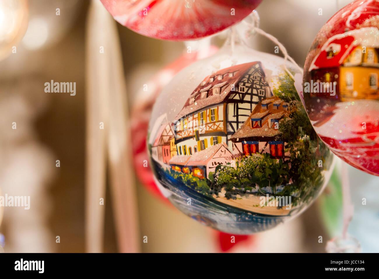 Decorazioni Natalizie Wikipedia.Decorazione Per Albero Di Natale Con La Tradizionale Tedesco Semi