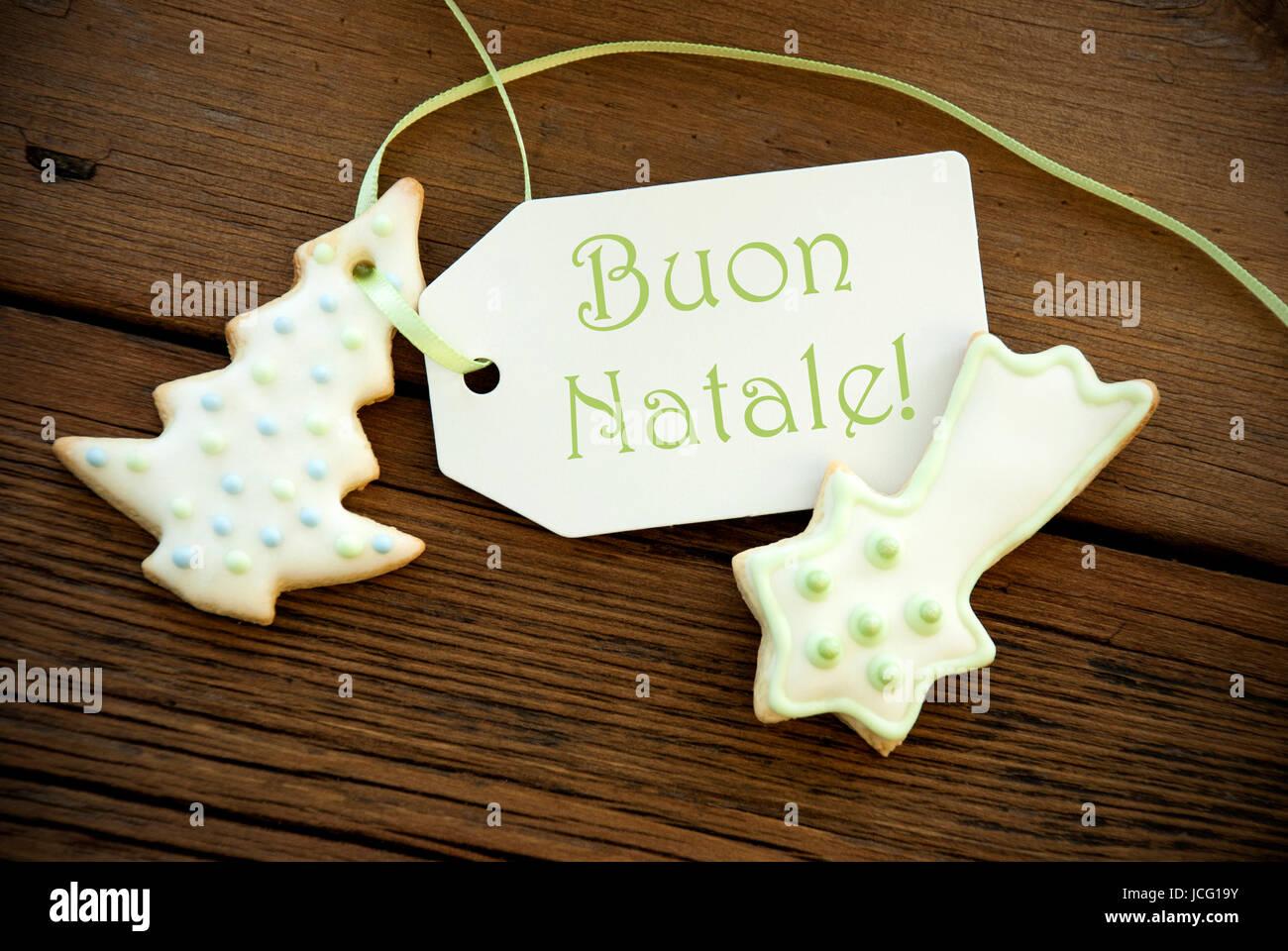 Buon Natale Que Significa.Le Parole Italiane Buon Natale Che Significa Buon Natale Su Di Una