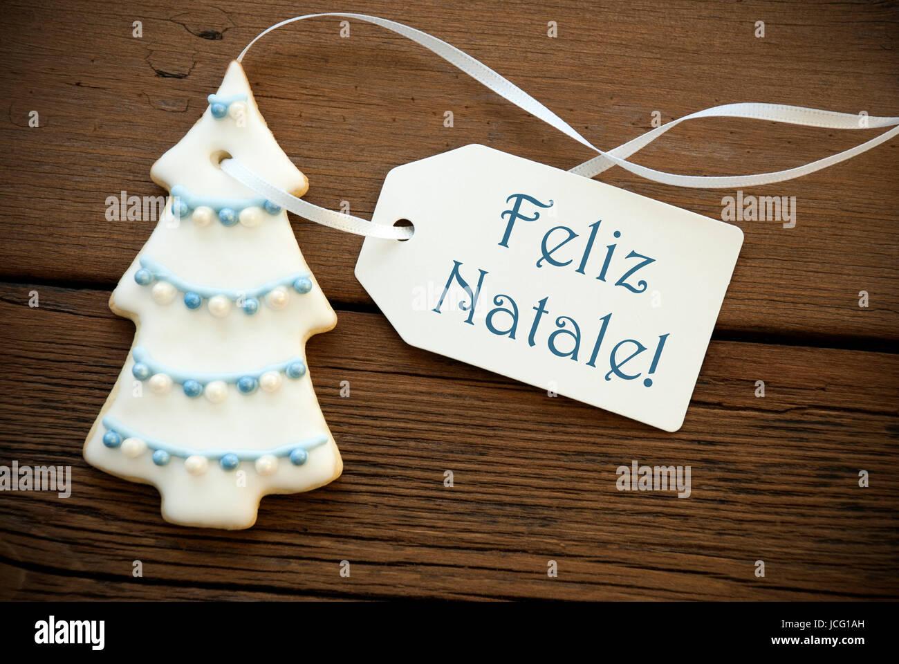 Buon Natale Que Significa.Il Blu Parole Portoghese Feliz Natale Che Significa Buon Natale Su