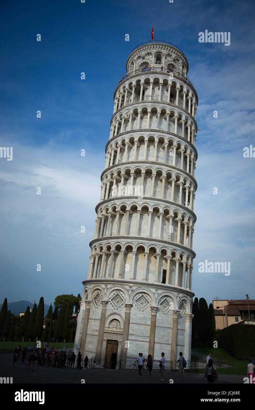 Pisa presso il fiume Arno Immagini Stock