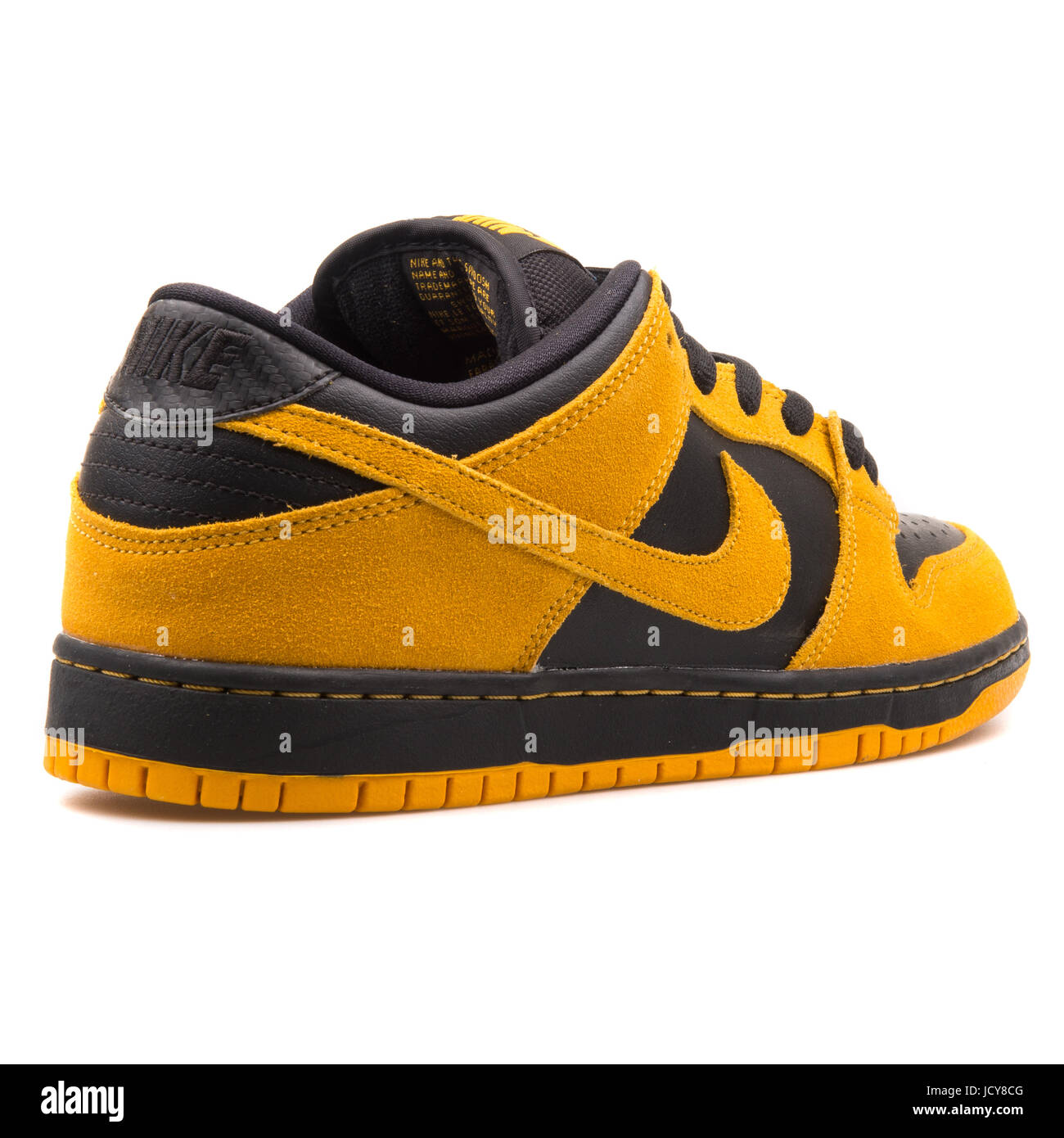 promo code 526a0 23280 Nike Dunk Low Pro SB oro giallo e nero uomini scarpe Skateboarding -  304292-706