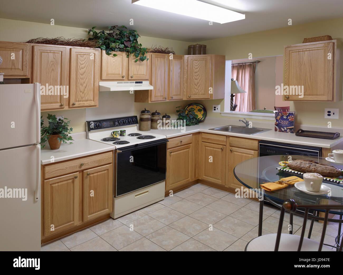 Cucina interno Immagini Stock