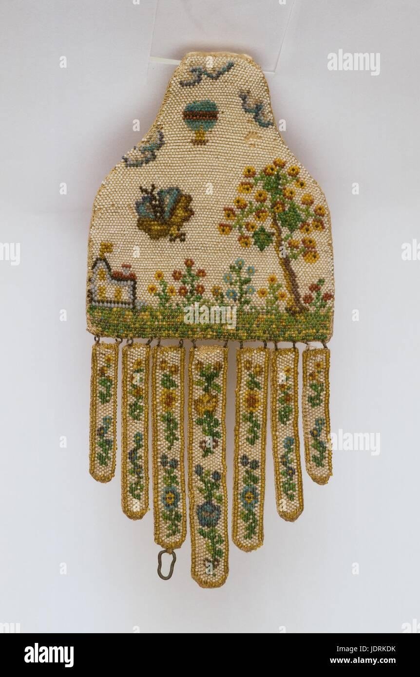 Perno cuscinetto realizzato dall'Demoiselles de Saint Cyr. Per commemorare il primo volo in pallone aerostatico Immagini Stock