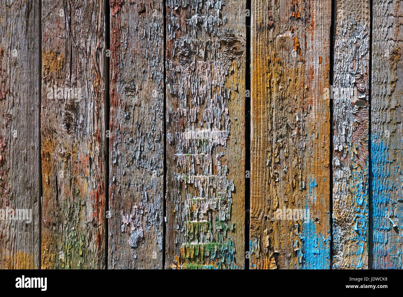Colori Vernici Legno : Un background in legno con tavole in verticale dipinta con colori