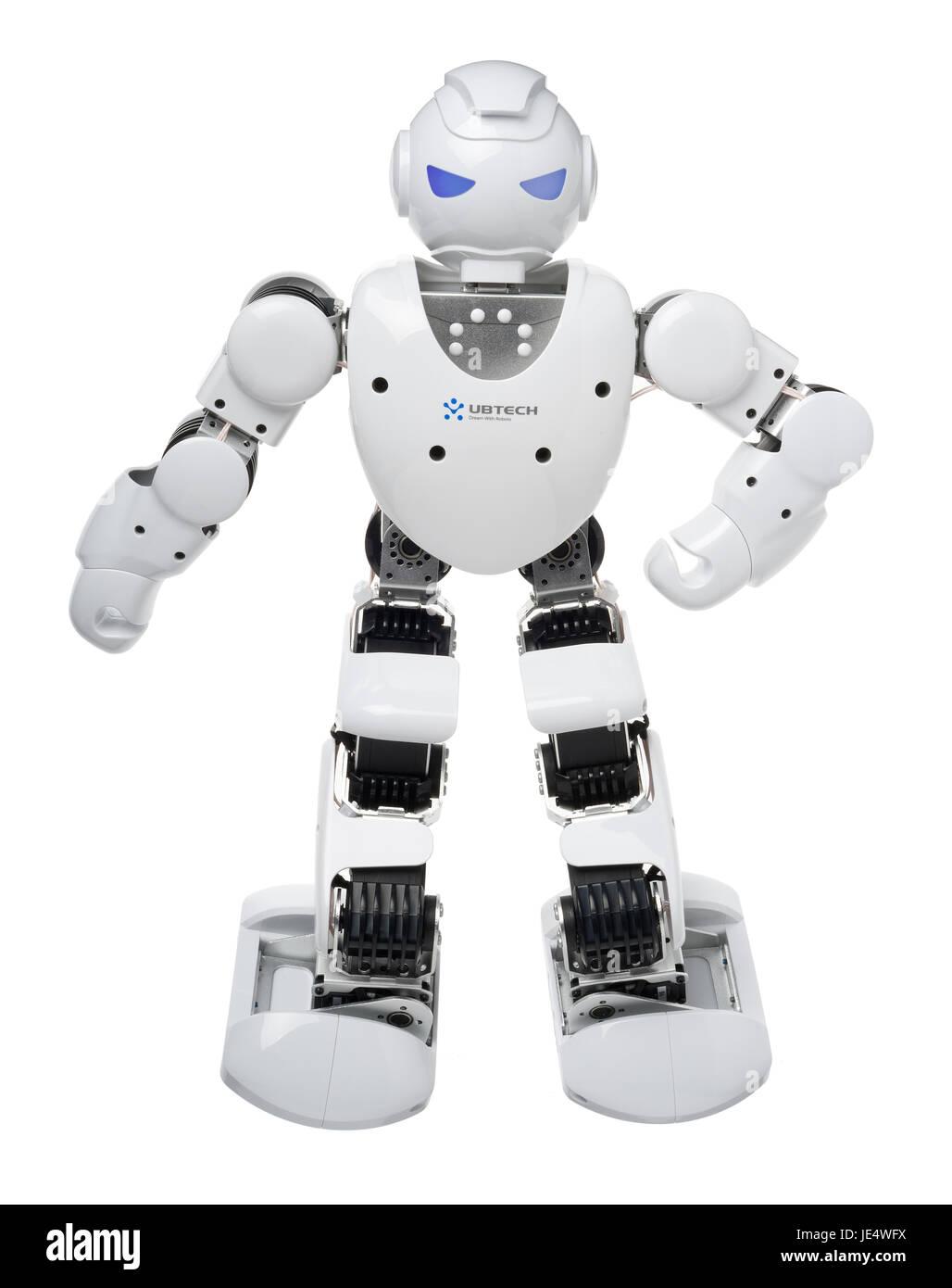 UBTECH alfa 1S robot Immagini Stock