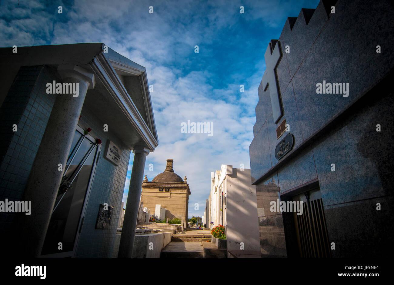 Cementerio de Punta Arenas / cimitero Foto Stock