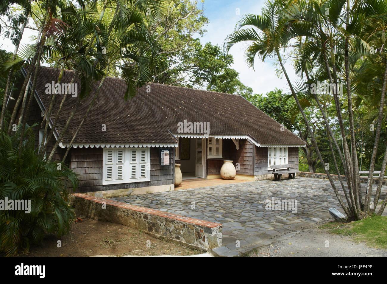 Martinica, casa regnante, dimora Clément, Immagini Stock