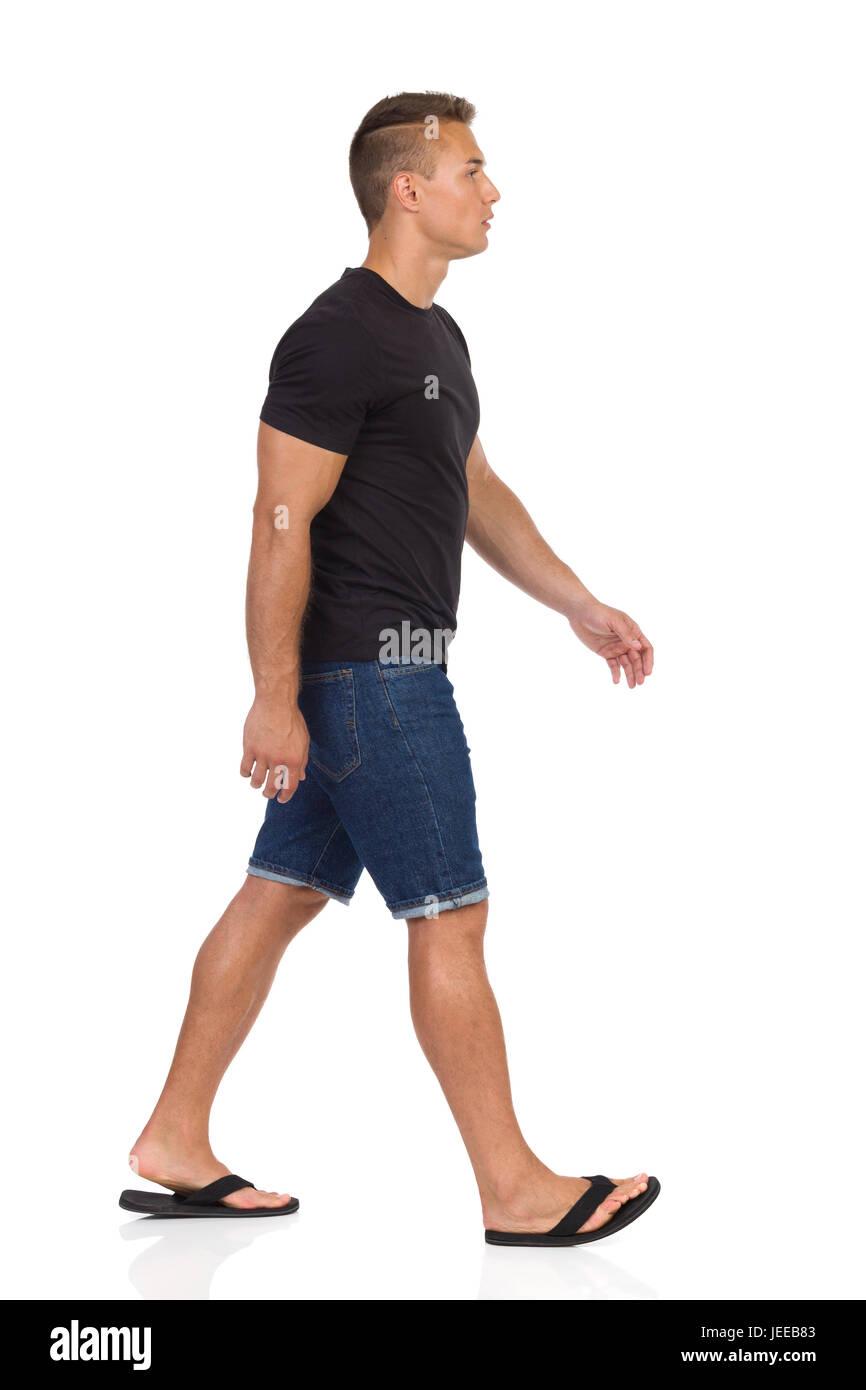 Uomo E Camicia E Jeans Nera Jeans BCrodxeW