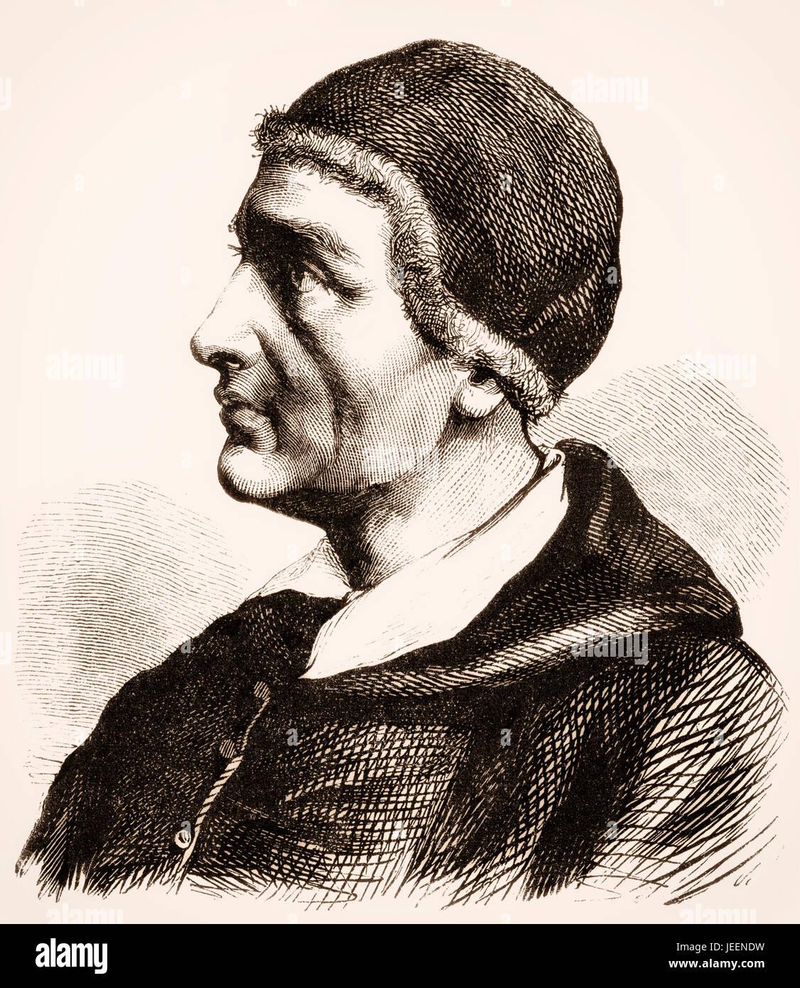 Papa Innocenzo I, servita come la chiesa cattolica papa da 401 fino alla sua morte nel 417 Immagini Stock