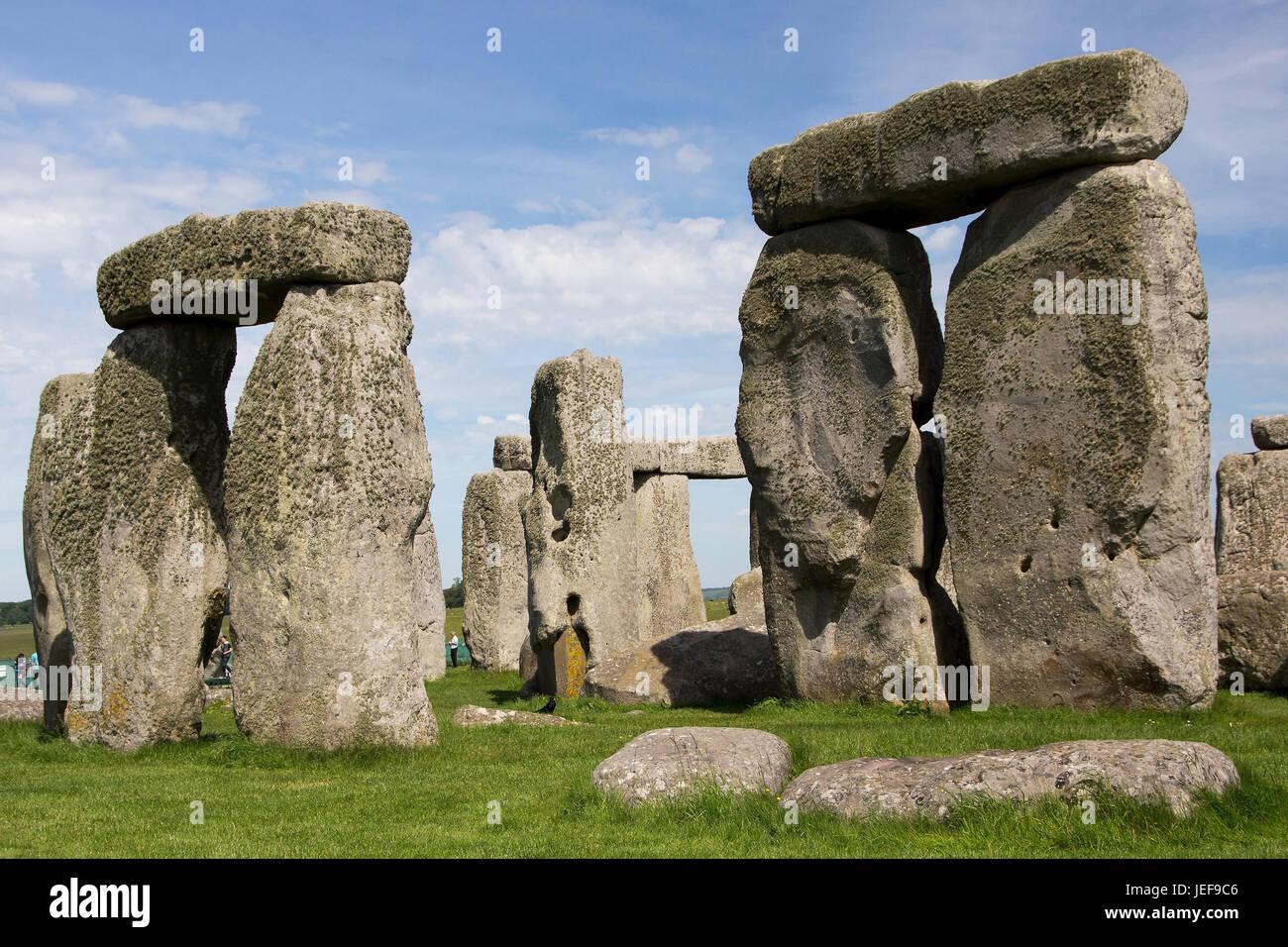 Stonehenge, Wiltshire, Gran Bretagna, Grossbritannien Immagini Stock
