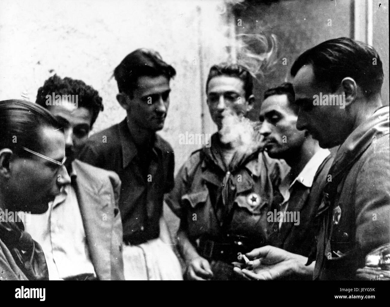 Corpo volontari della libertà, Milano Immagini Stock