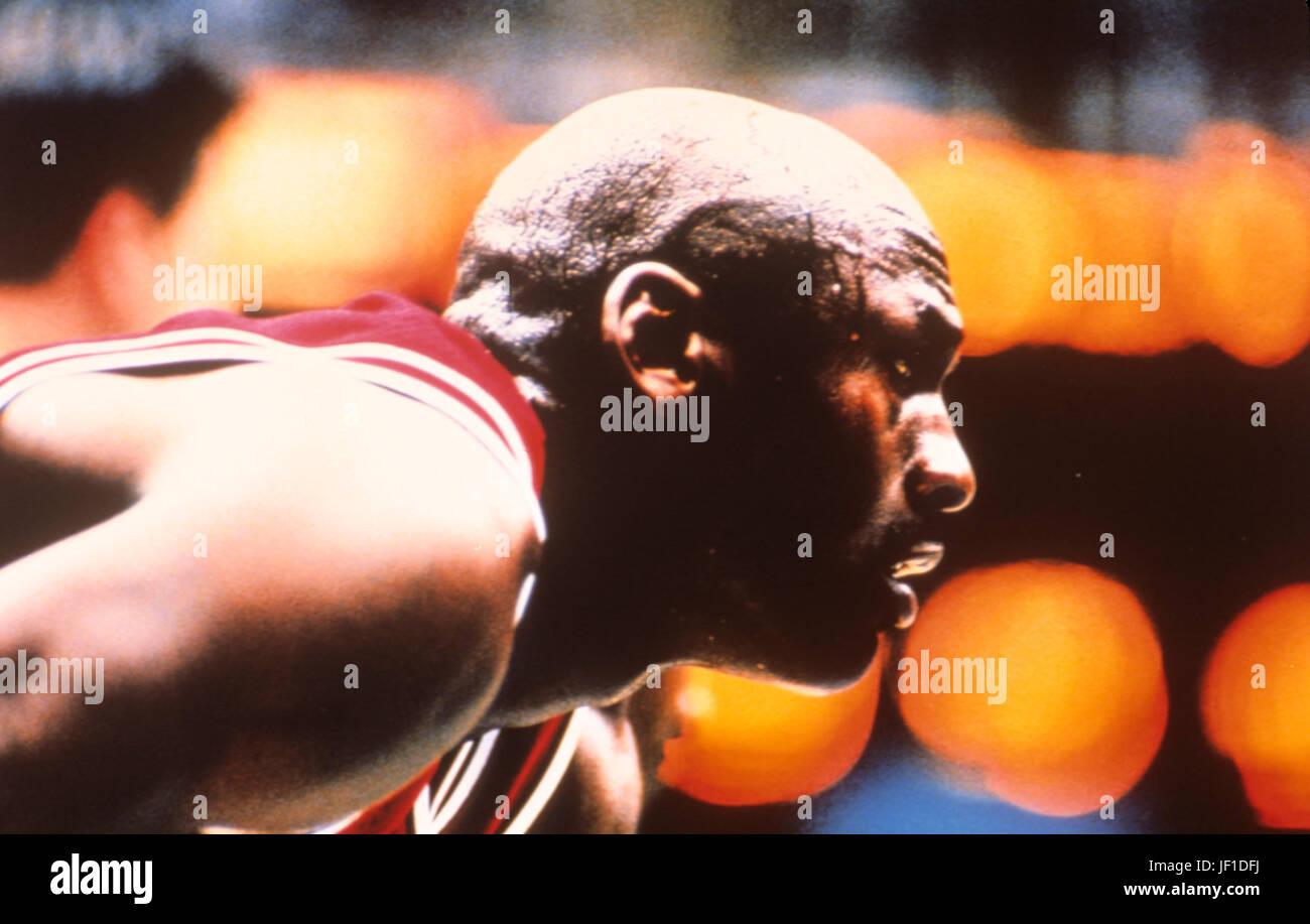 Michael Jordan, 80s Immagini Stock